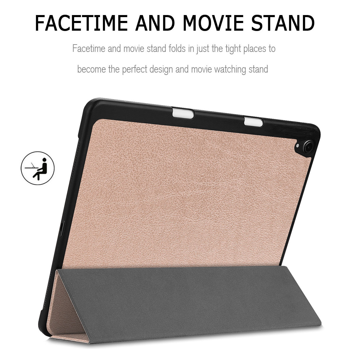 Magnetic Smart Folio Case with Pencil Charging For iPad Pro 11/'/' 12.9/'/' 3rd 2018