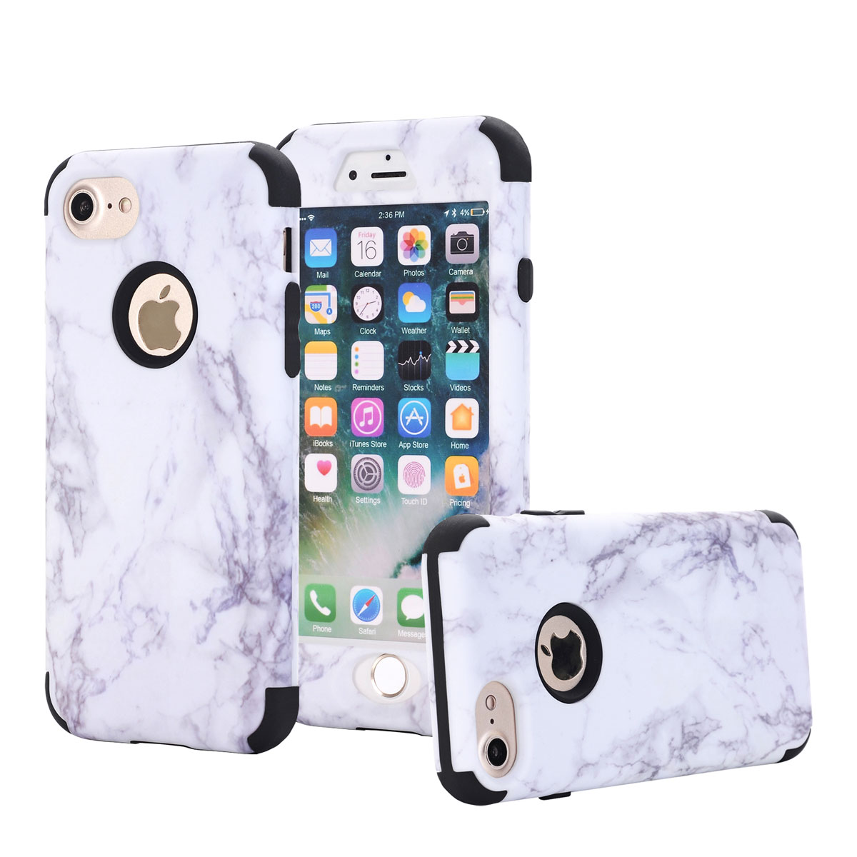 iphone protective cases marble pattern bumper protective cover for apple 12164