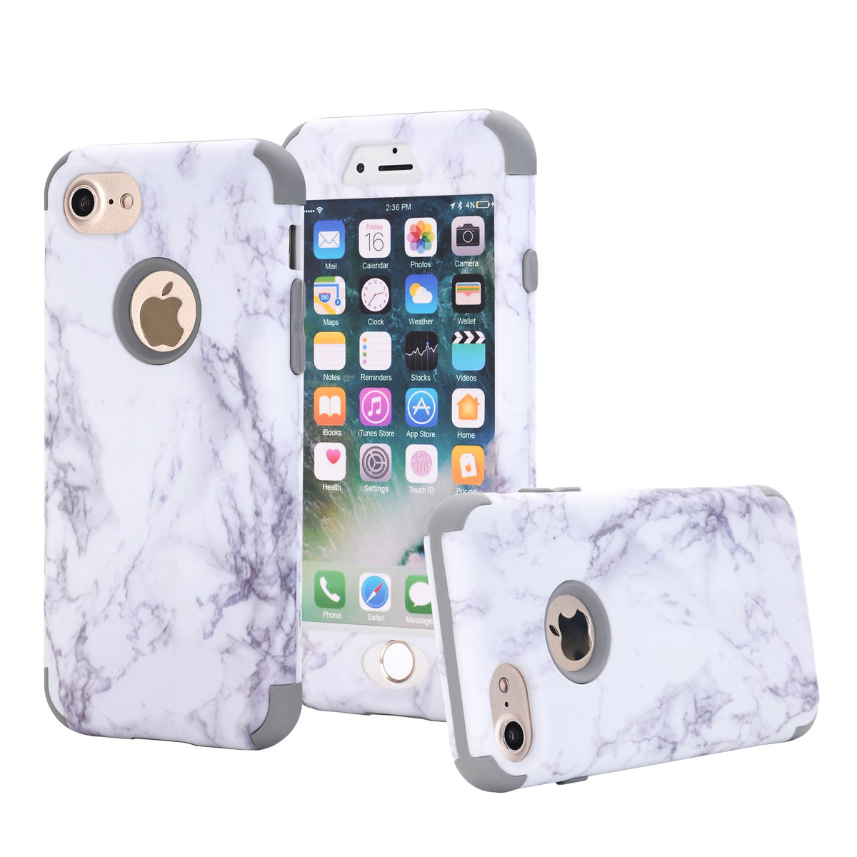 Protective Marble Iphone S Case