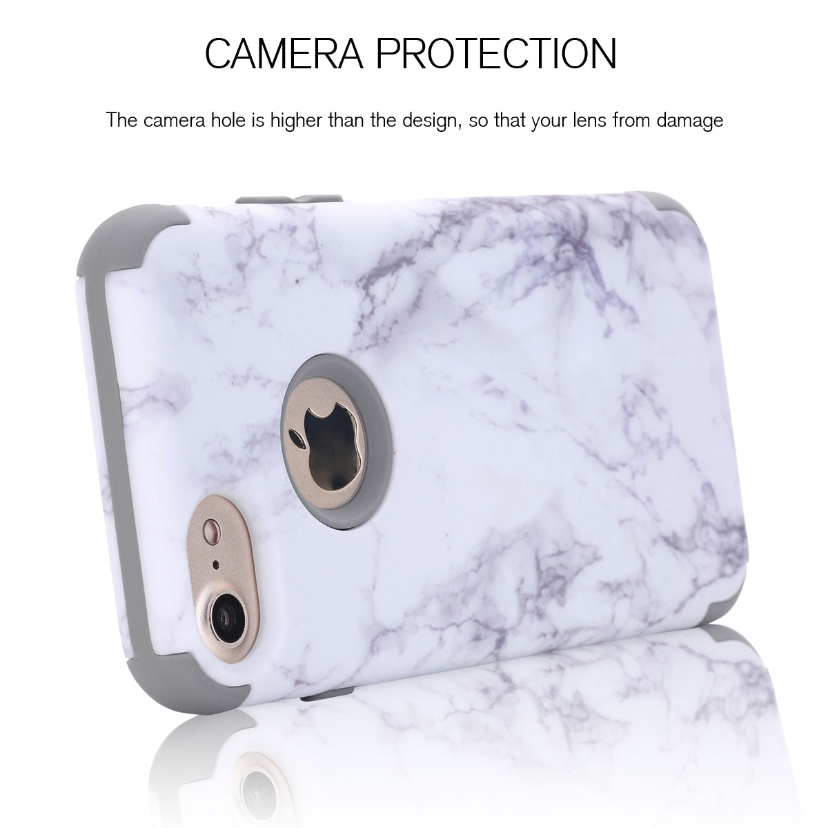 granite marble pattern protective full body pc cover case