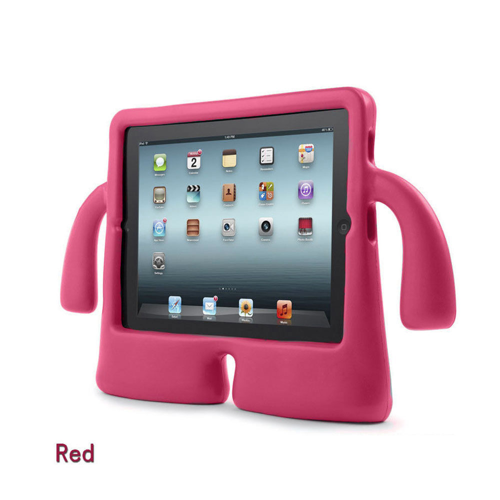 safe kids shockproof eva foam stand cover case for ipad pro mini 1 2 3 4 air 2 ebay. Black Bedroom Furniture Sets. Home Design Ideas