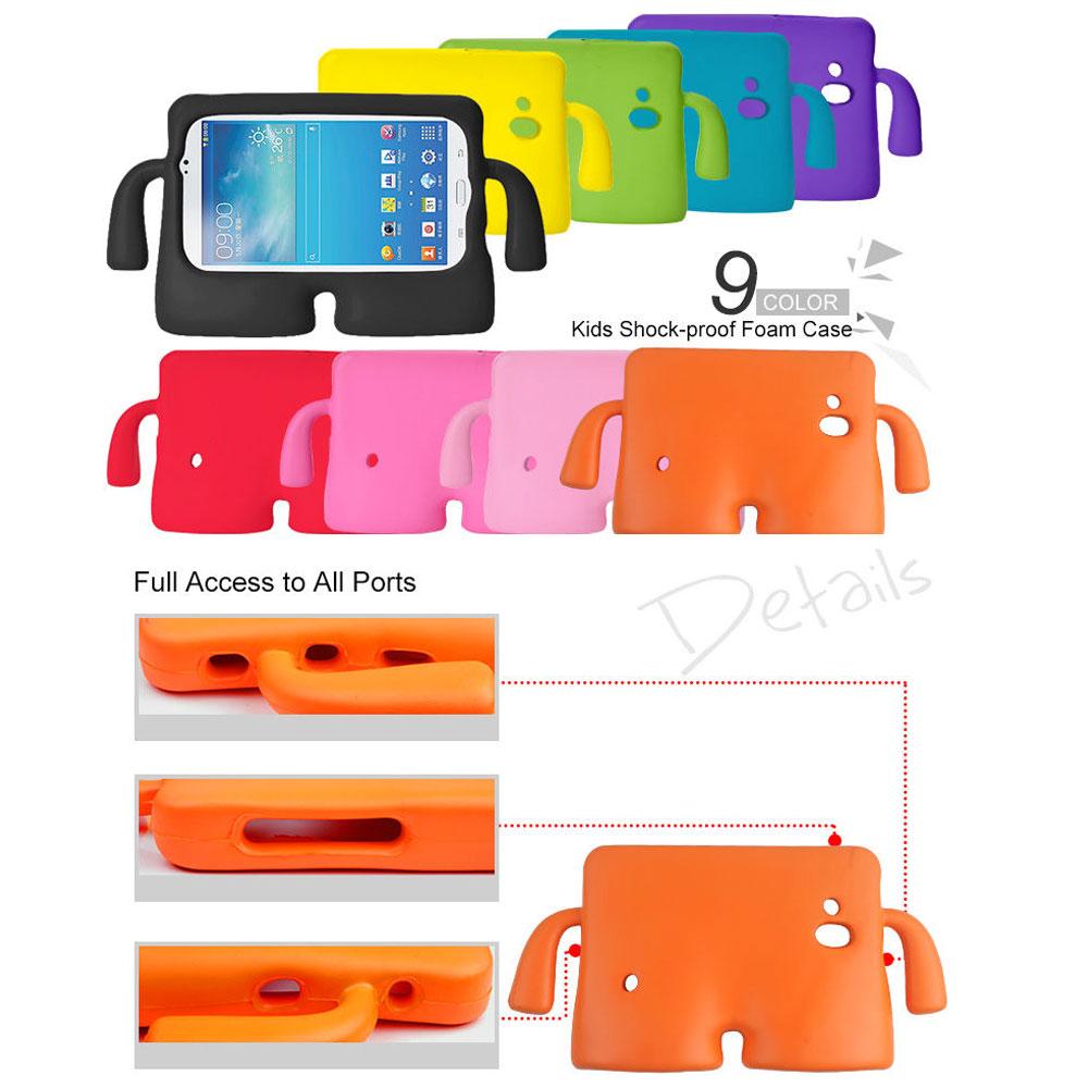 Details about Kids Safe EVA Foam Holder Shockproof Case For Samsung Galaxy  Tab 3 4 7 0 10 1