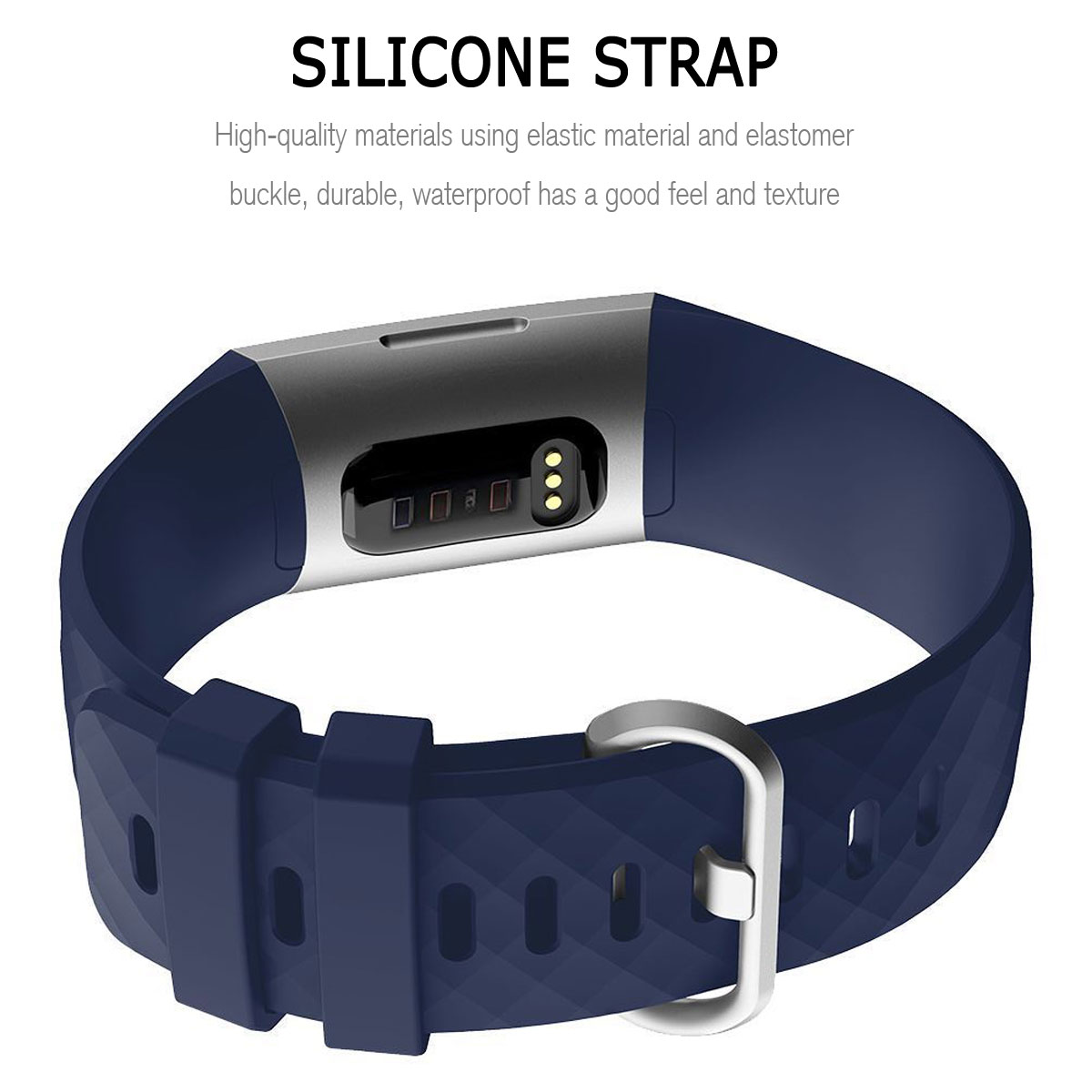 For-Fitbit-Charge-3-Silicone-Sports-Replacement-TPU-Watch-Band-Wristband-Strap miniature 14