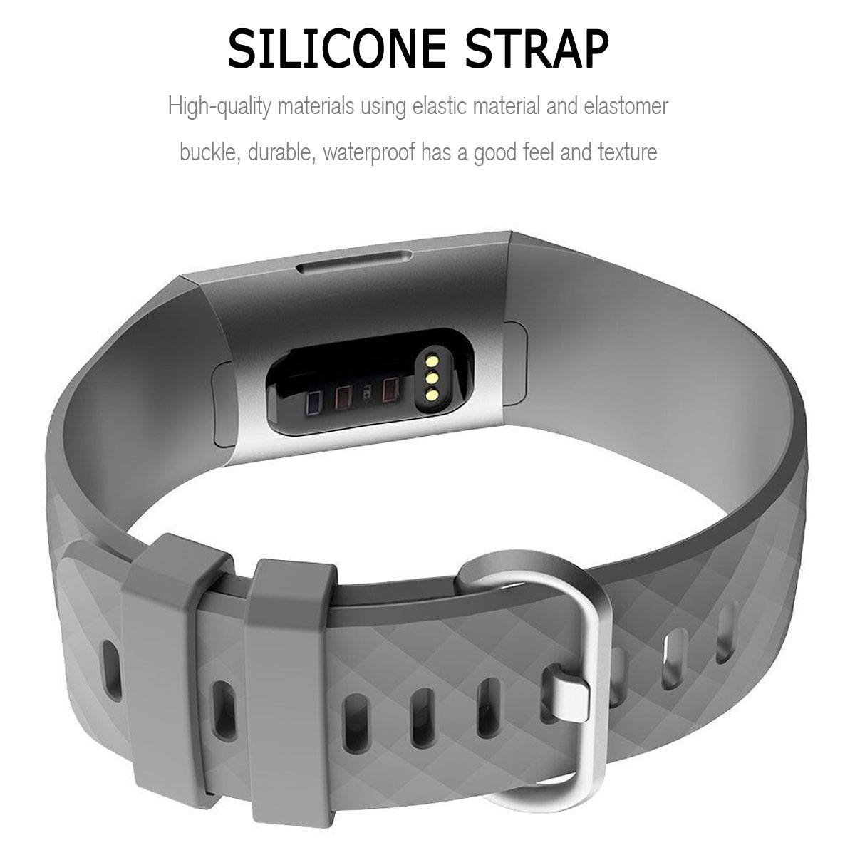 For-Fitbit-Charge-3-Silicone-Sports-Replacement-TPU-Watch-Band-Wristband-Strap miniature 28