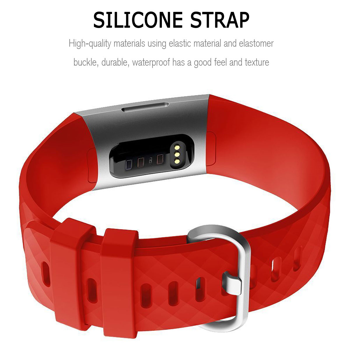 For-Fitbit-Charge-3-Silicone-Sports-Replacement-TPU-Watch-Band-Wristband-Strap miniature 35
