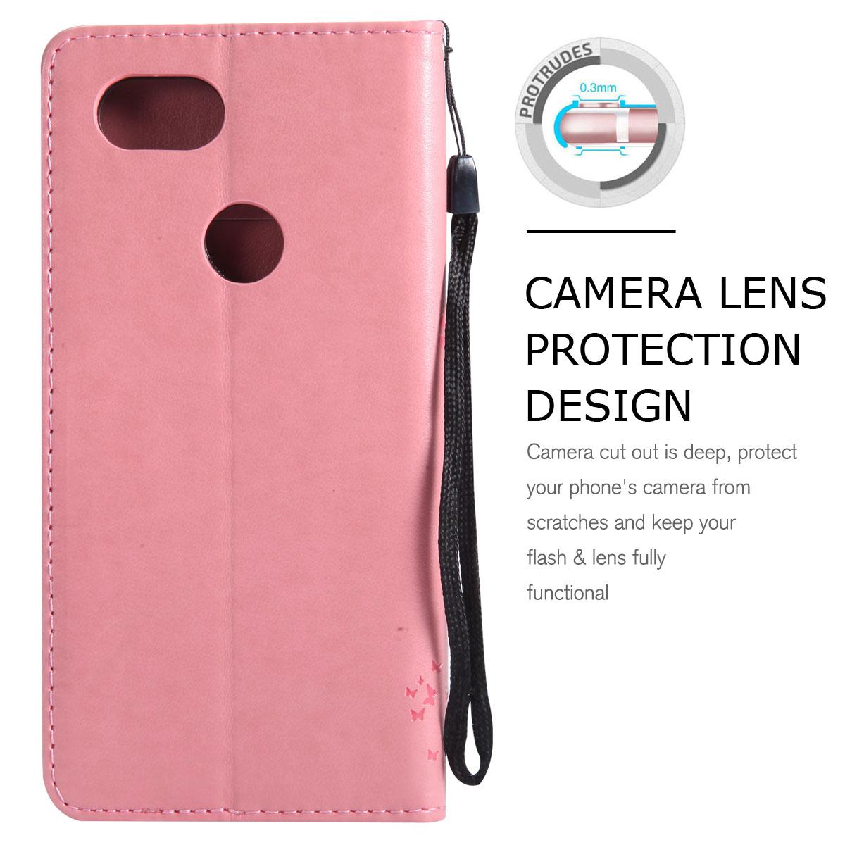 Magnetic-Leather-Credit-Card-Holder-Flip-Case-Cover-For-Google-Pixel-2-2-XL thumbnail 14