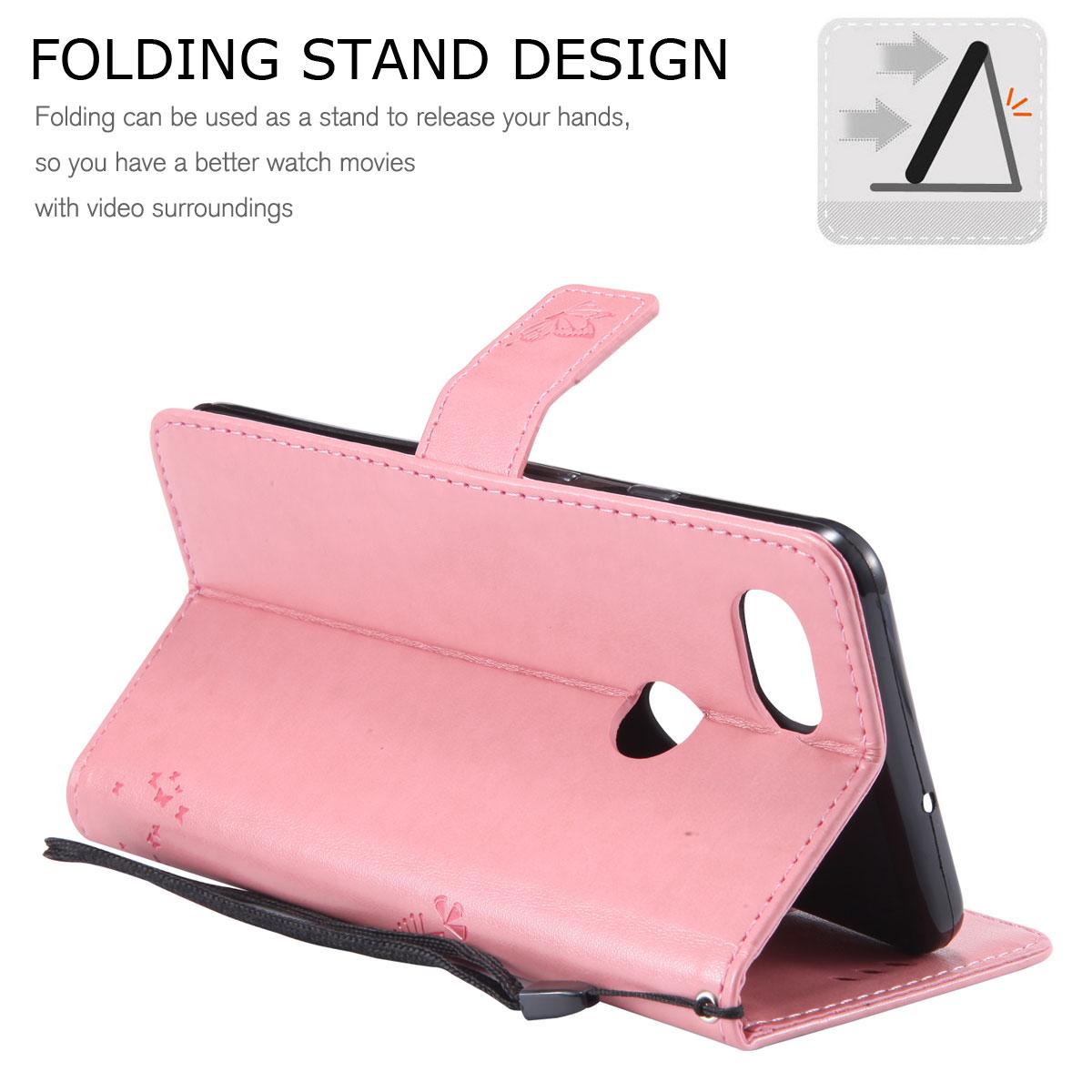 Magnetic-Leather-Credit-Card-Holder-Flip-Case-Cover-For-Google-Pixel-2-2-XL thumbnail 15