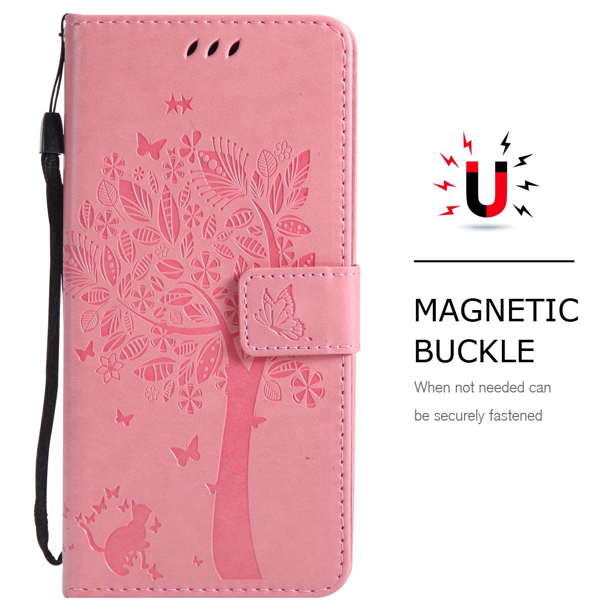 Magnetic-Leather-Credit-Card-Holder-Flip-Case-Cover-For-Google-Pixel-2-2-XL thumbnail 16
