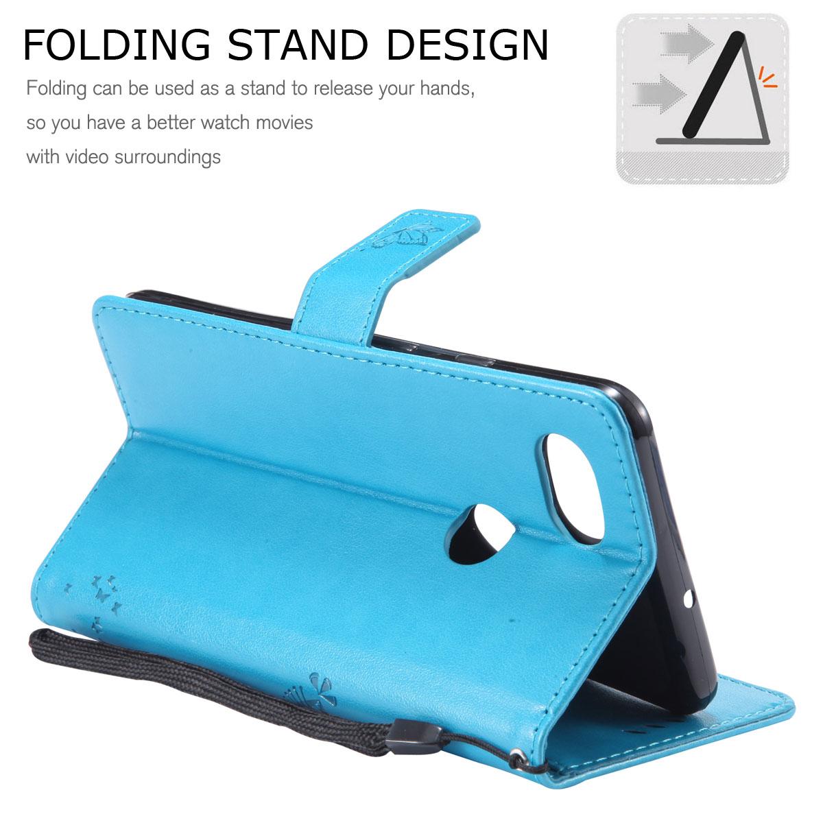 Magnetic-Leather-Credit-Card-Holder-Flip-Case-Cover-For-Google-Pixel-2-2-XL thumbnail 22