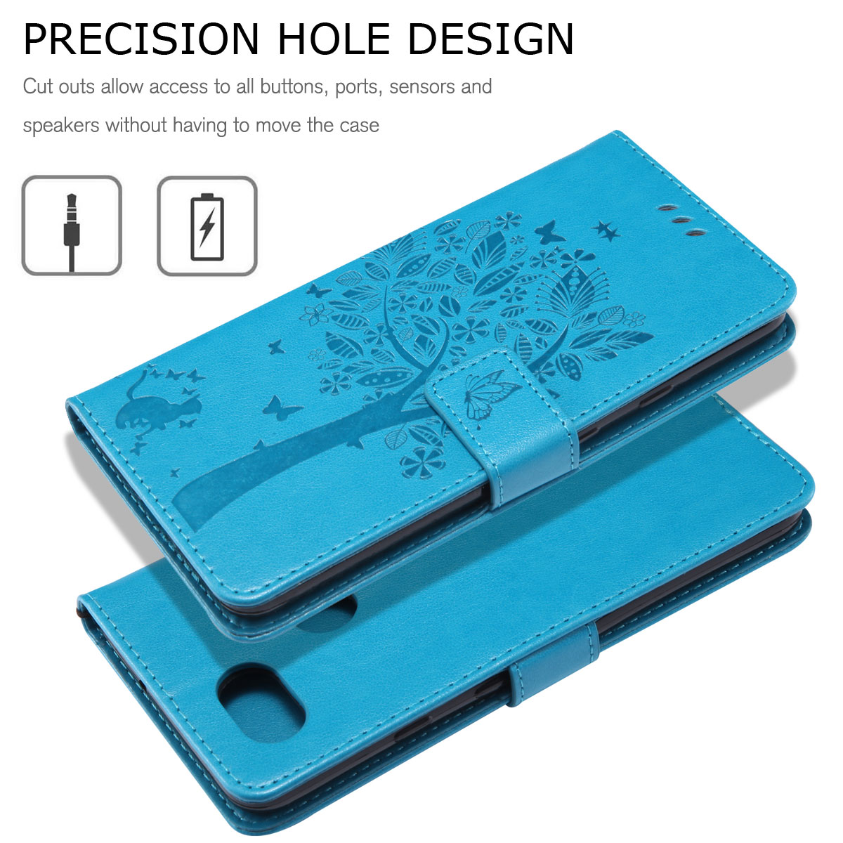 Magnetic-Leather-Credit-Card-Holder-Flip-Case-Cover-For-Google-Pixel-2-2-XL thumbnail 24