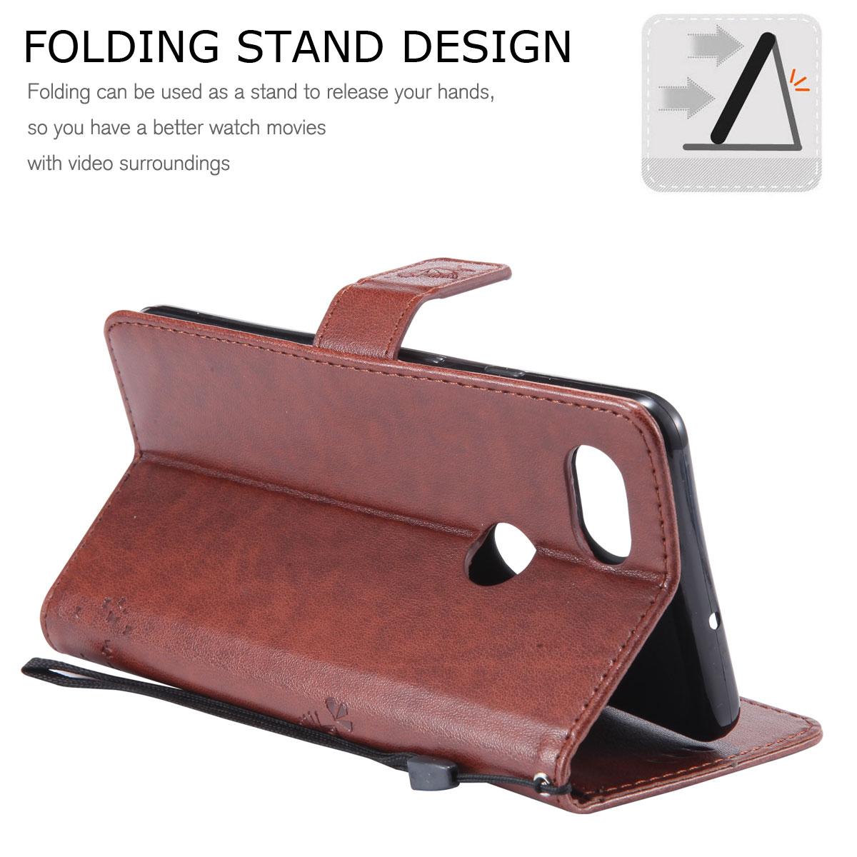Magnetic-Leather-Credit-Card-Holder-Flip-Case-Cover-For-Google-Pixel-2-2-XL thumbnail 29