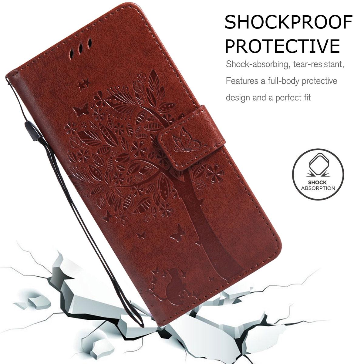 Magnetic-Leather-Credit-Card-Holder-Flip-Case-Cover-For-Google-Pixel-2-2-XL thumbnail 32
