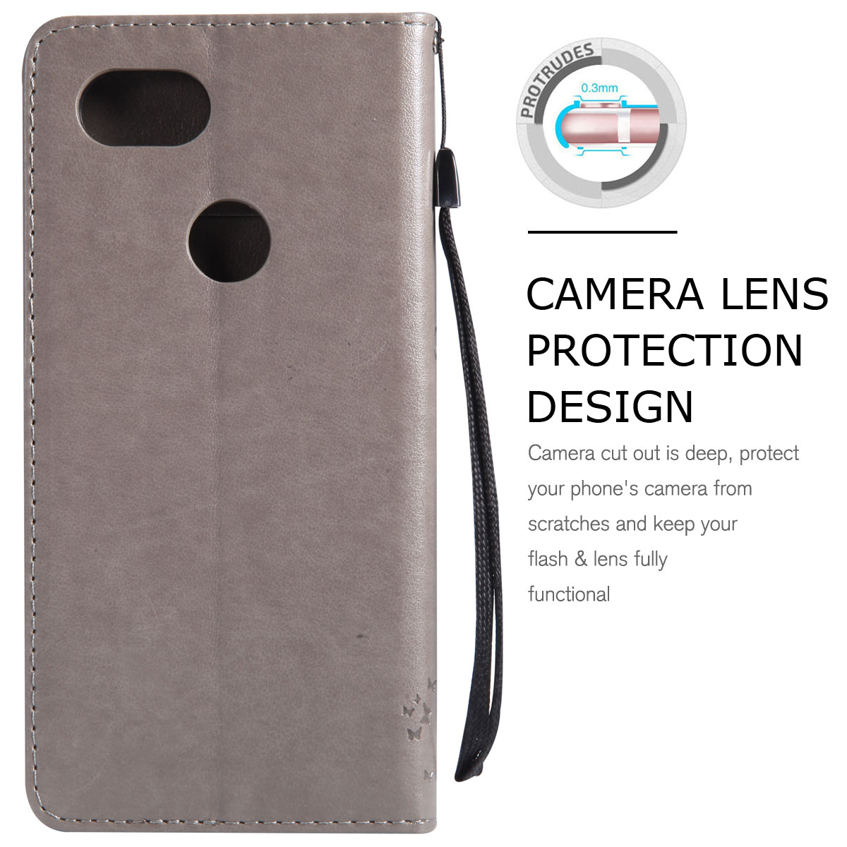 Magnetic-Leather-Credit-Card-Holder-Flip-Case-Cover-For-Google-Pixel-2-2-XL thumbnail 35