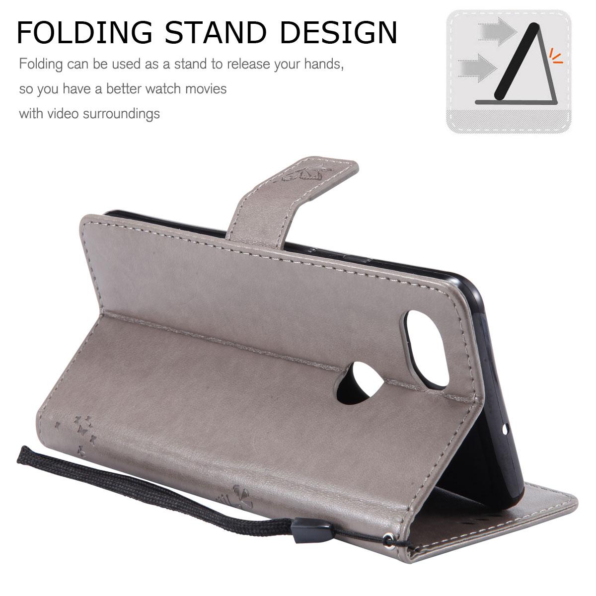 Magnetic-Leather-Credit-Card-Holder-Flip-Case-Cover-For-Google-Pixel-2-2-XL thumbnail 36