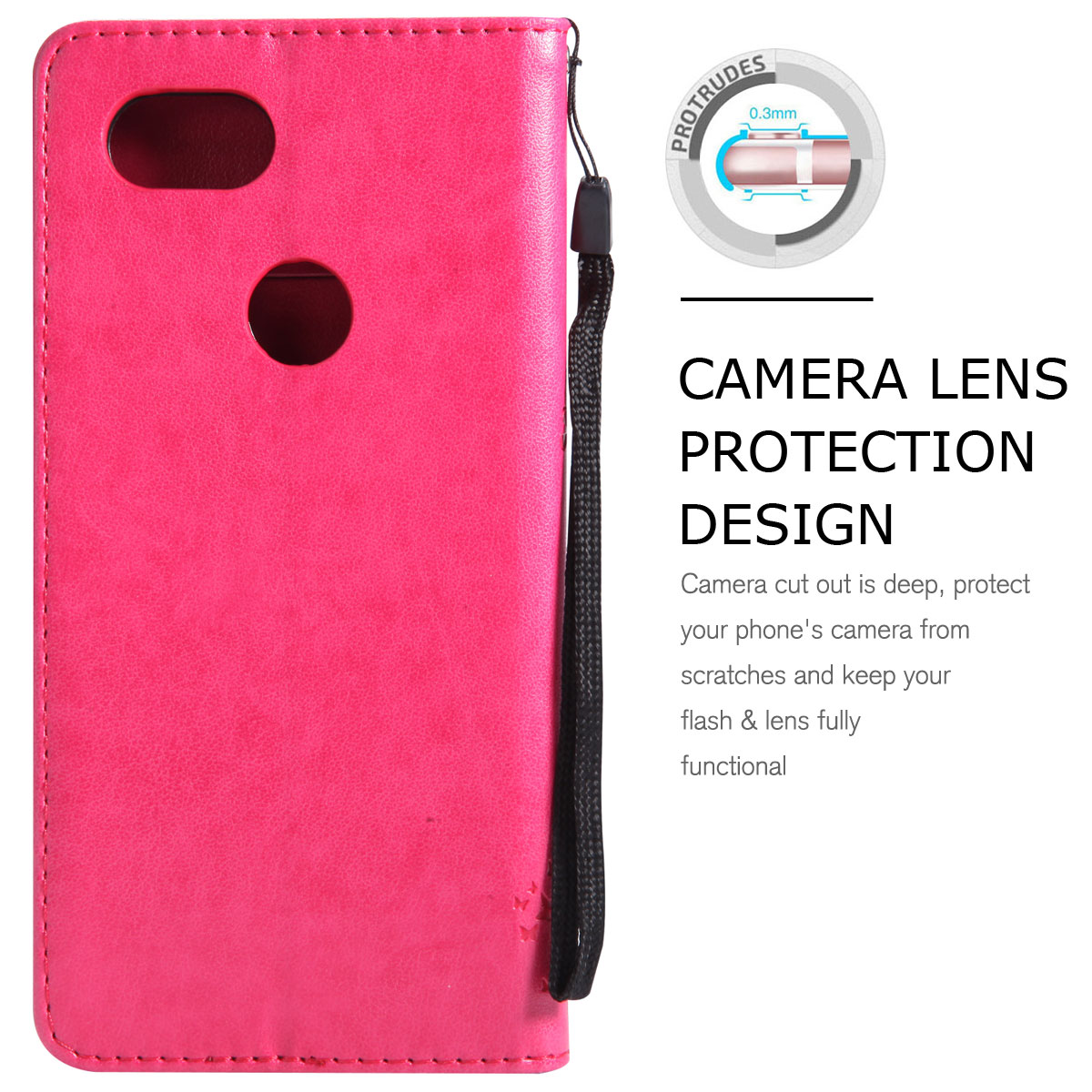 Magnetic-Leather-Credit-Card-Holder-Flip-Case-Cover-For-Google-Pixel-2-2-XL thumbnail 42