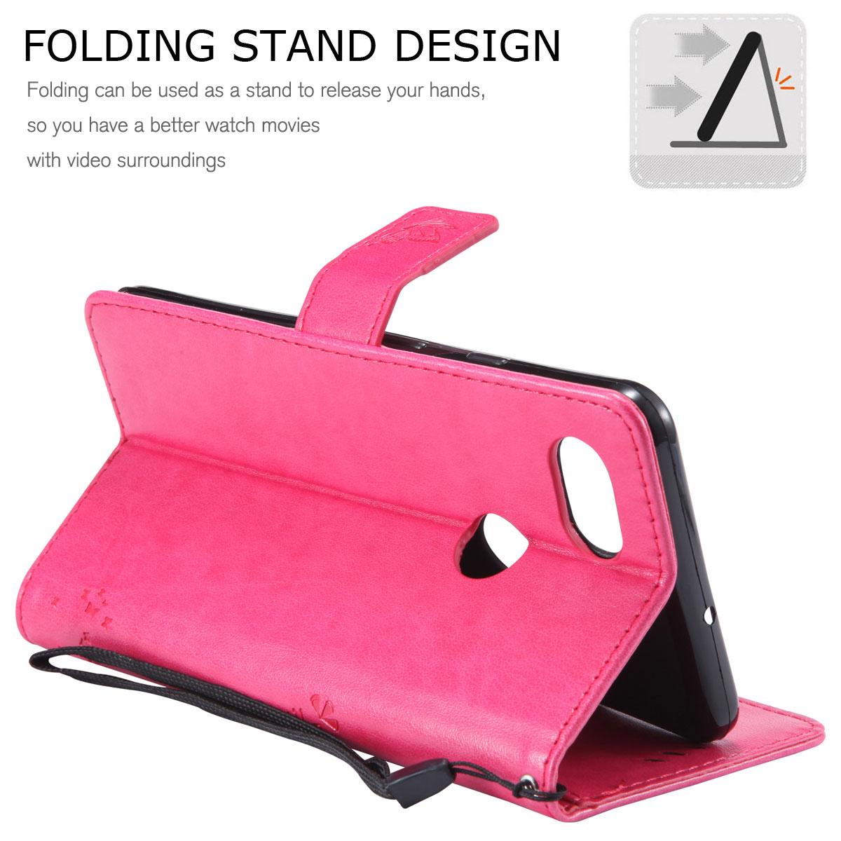 Magnetic-Leather-Credit-Card-Holder-Flip-Case-Cover-For-Google-Pixel-2-2-XL thumbnail 43