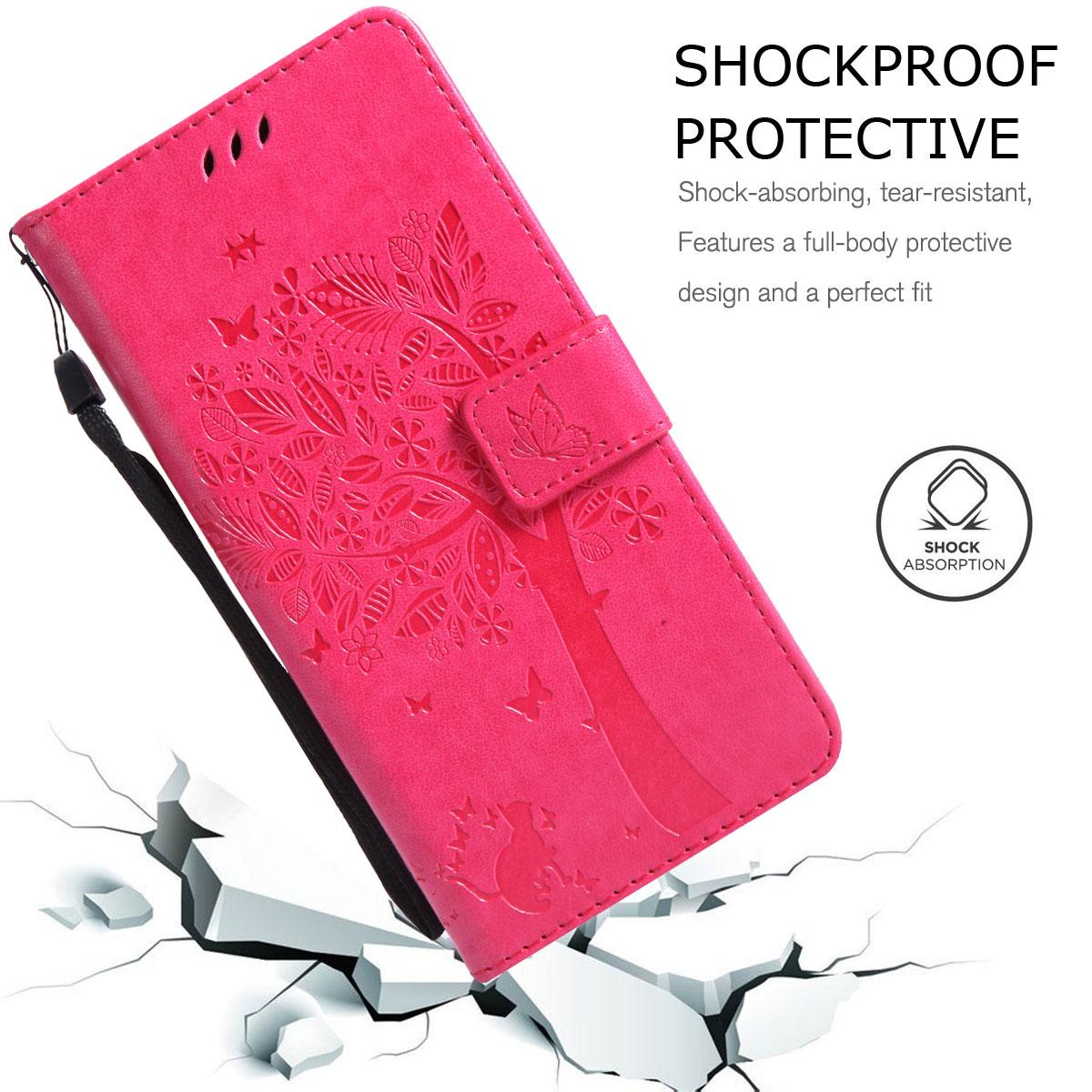 Magnetic-Leather-Credit-Card-Holder-Flip-Case-Cover-For-Google-Pixel-2-2-XL thumbnail 46