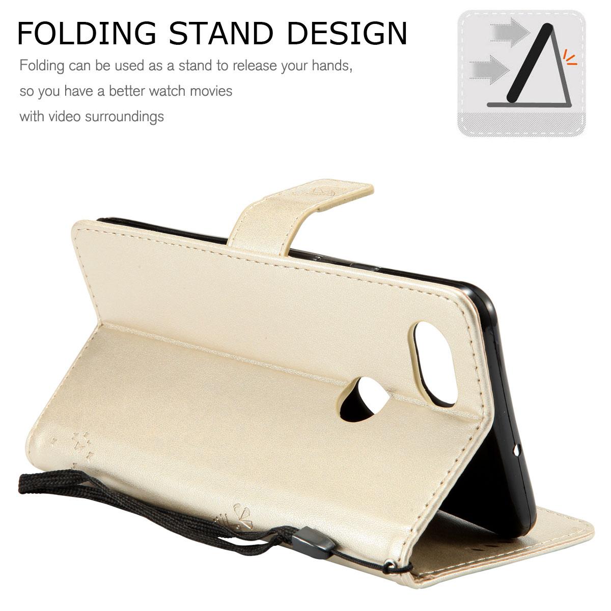Magnetic-Leather-Credit-Card-Holder-Flip-Case-Cover-For-Google-Pixel-2-2-XL thumbnail 50