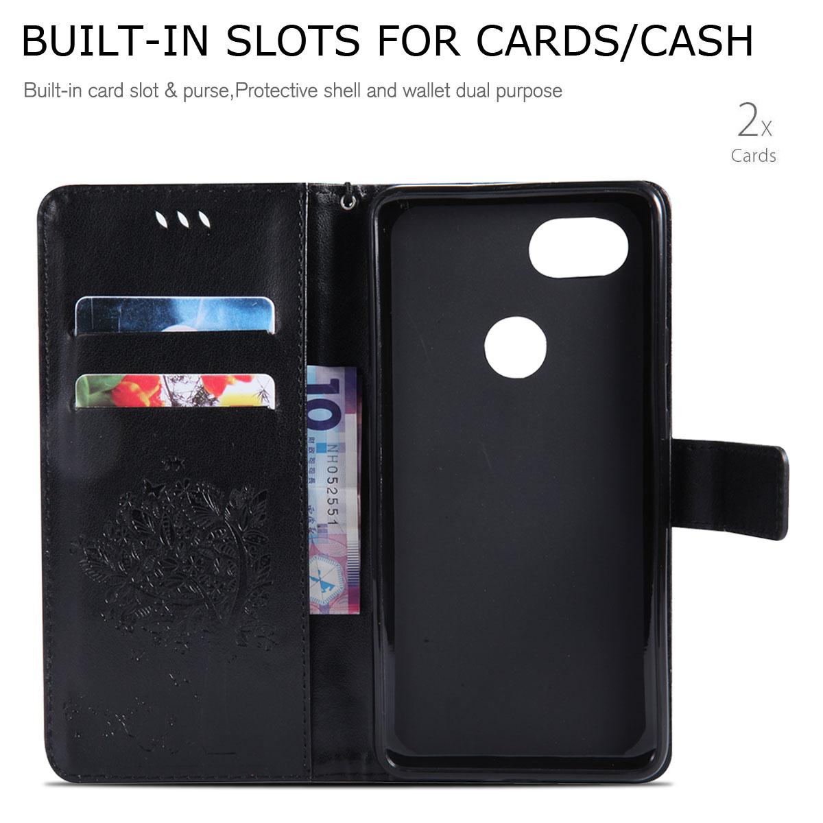 Magnetic-Leather-Credit-Card-Holder-Flip-Case-Cover-For-Google-Pixel-2-2-XL thumbnail 55
