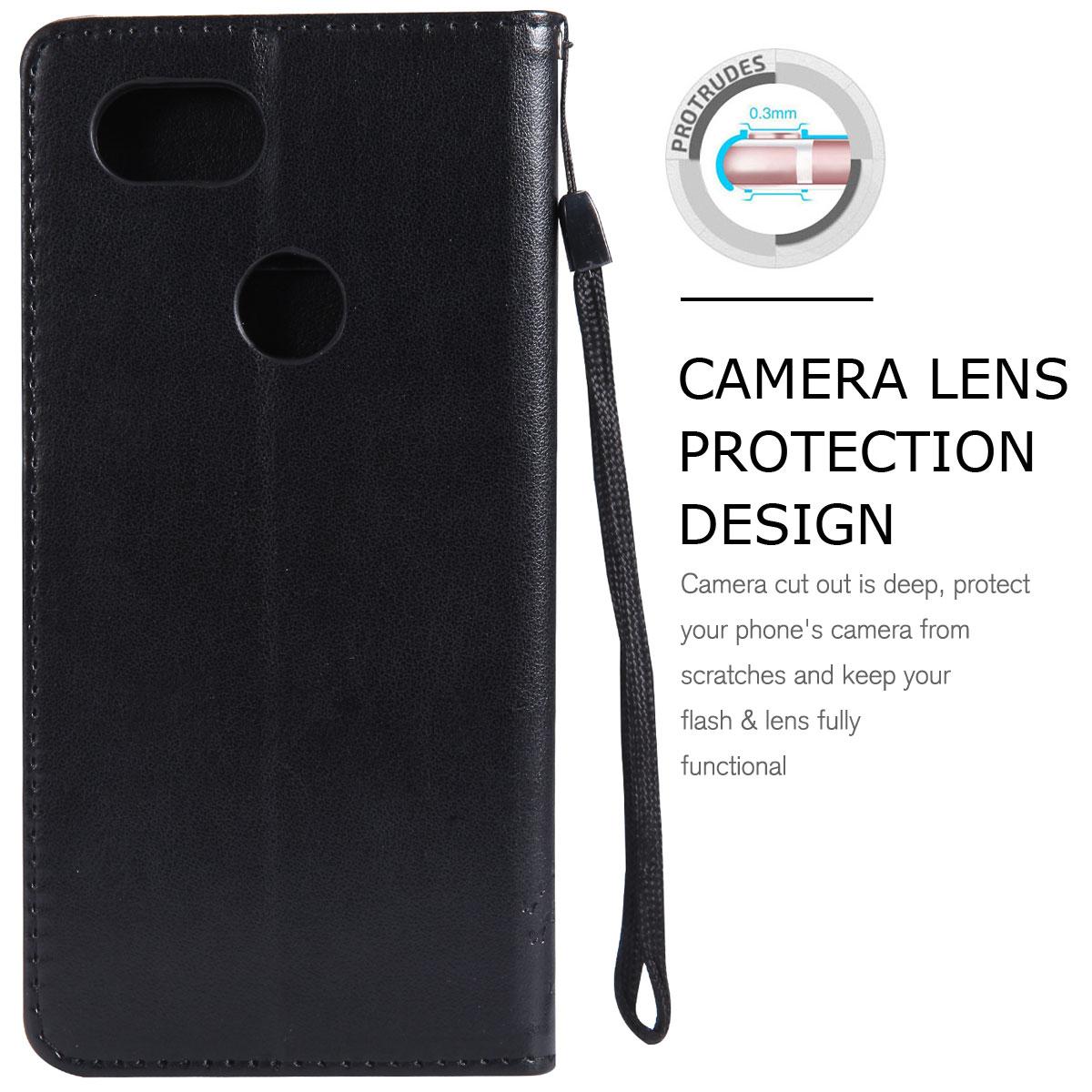Magnetic-Leather-Credit-Card-Holder-Flip-Case-Cover-For-Google-Pixel-2-2-XL thumbnail 56