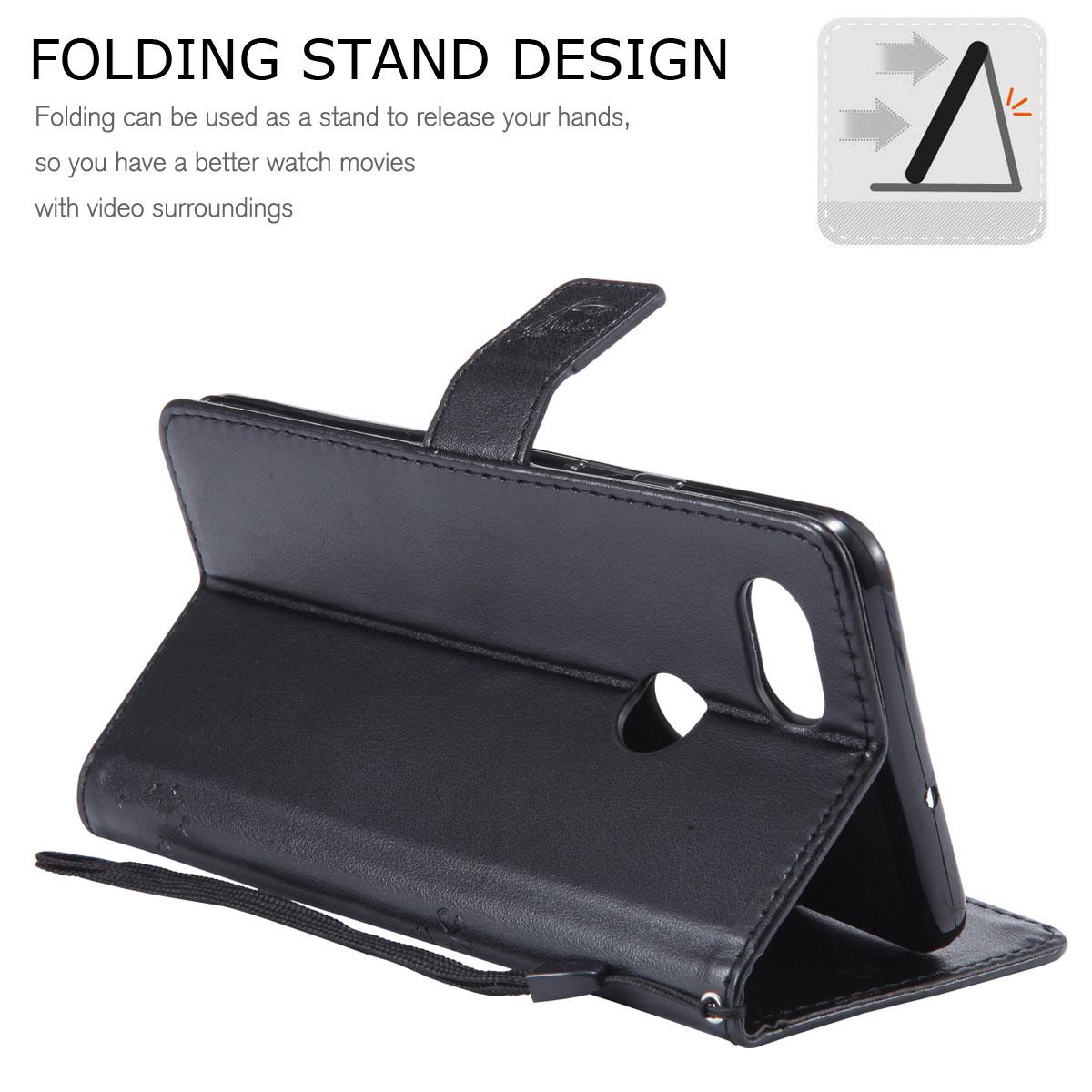 Magnetic-Leather-Credit-Card-Holder-Flip-Case-Cover-For-Google-Pixel-2-2-XL thumbnail 57