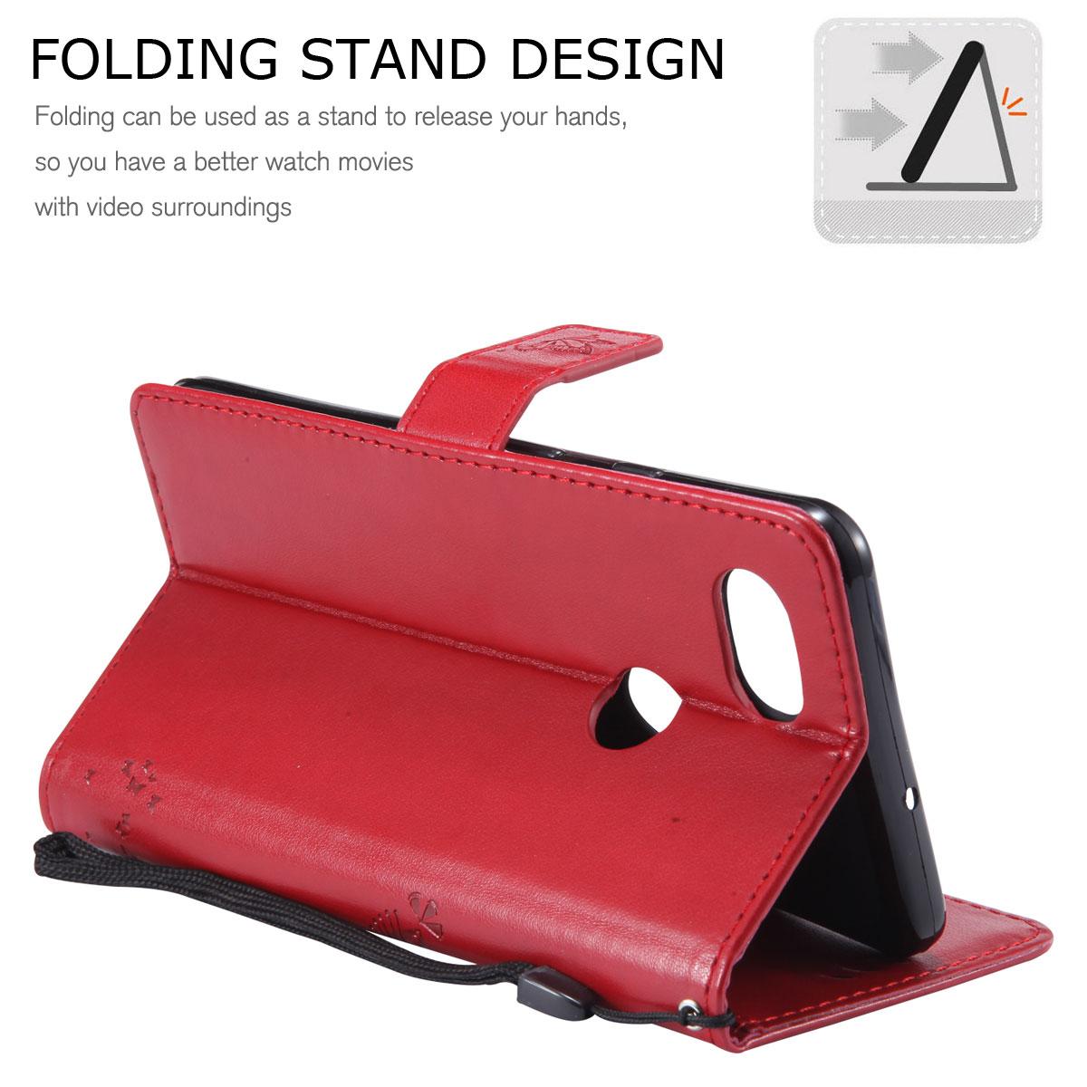 Magnetic-Leather-Credit-Card-Holder-Flip-Case-Cover-For-Google-Pixel-2-2-XL thumbnail 64