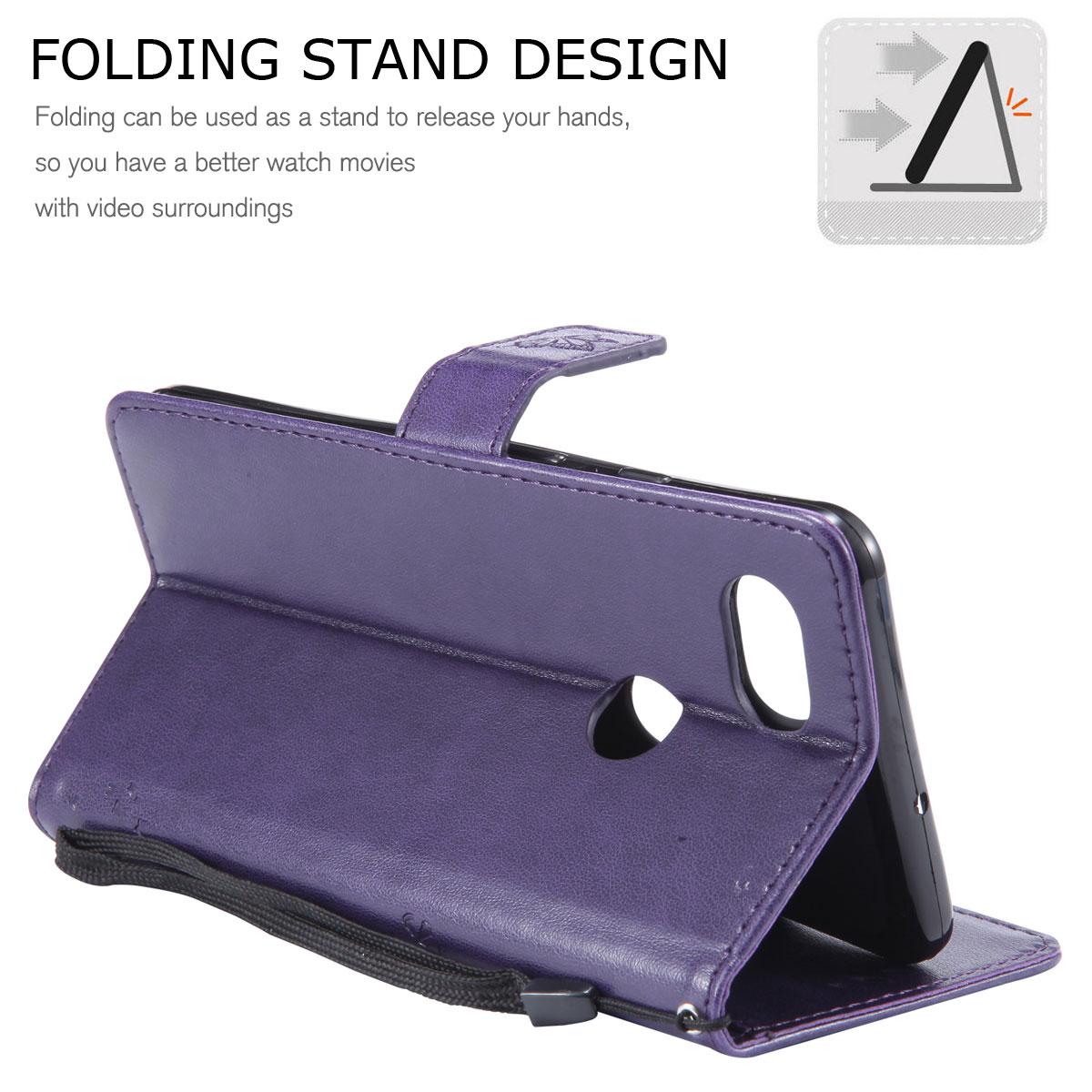 Magnetic-Leather-Credit-Card-Holder-Flip-Case-Cover-For-Google-Pixel-2-2-XL thumbnail 71