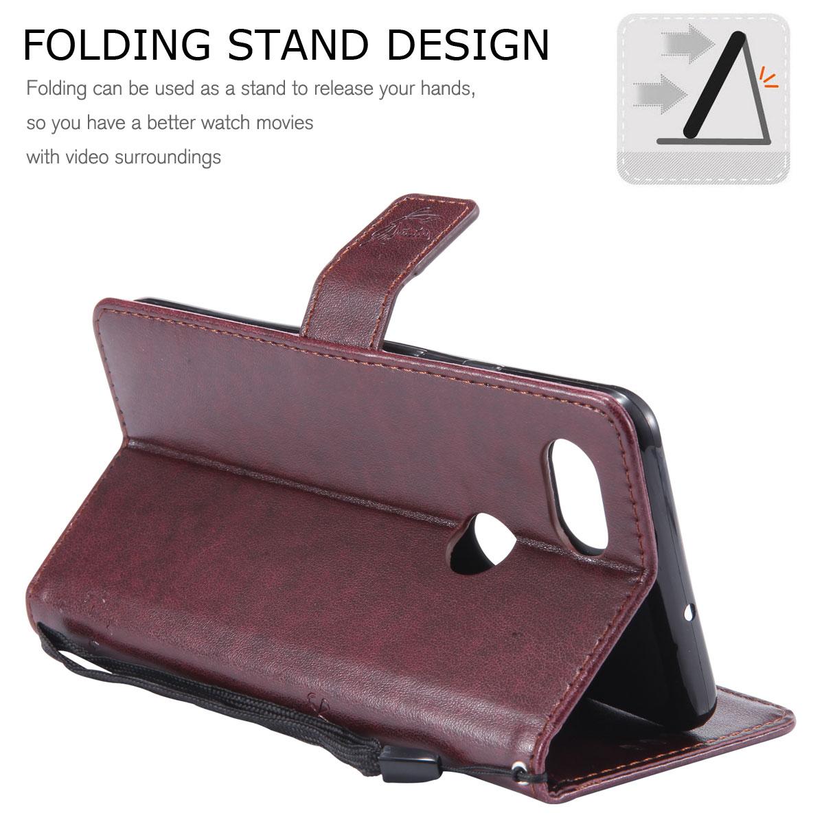 Magnetic-Leather-Credit-Card-Holder-Flip-Case-Cover-For-Google-Pixel-2-2-XL thumbnail 78
