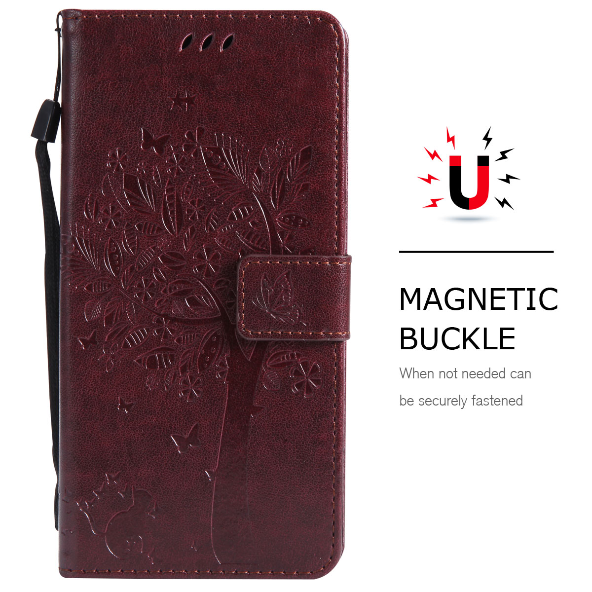 Magnetic-Leather-Credit-Card-Holder-Flip-Case-Cover-For-Google-Pixel-2-2-XL thumbnail 79