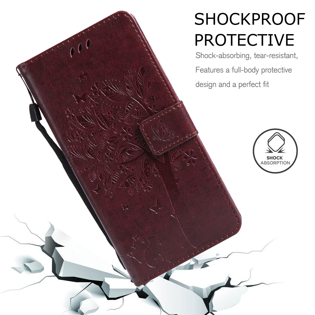 Magnetic-Leather-Credit-Card-Holder-Flip-Case-Cover-For-Google-Pixel-2-2-XL thumbnail 81