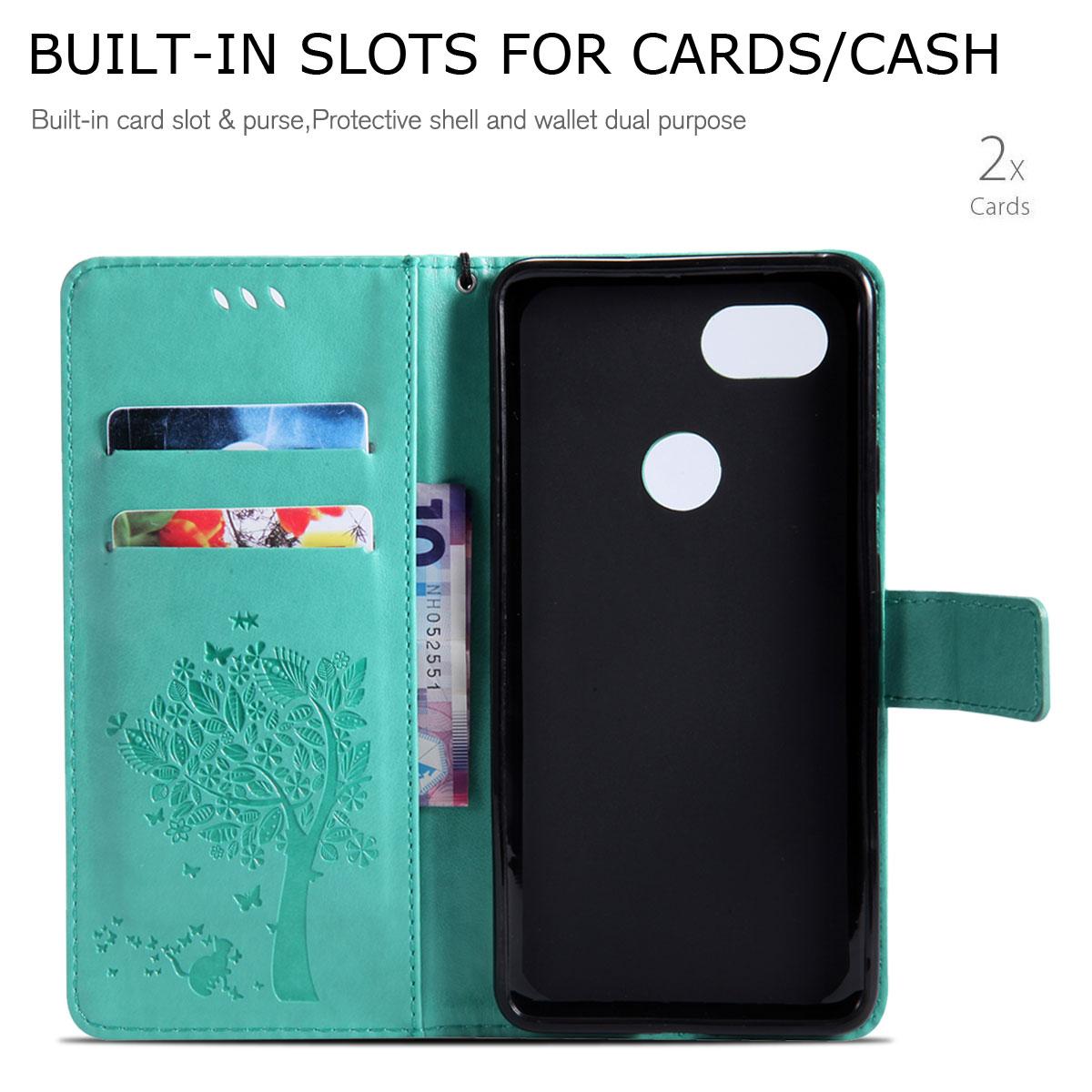 Magnetic-Leather-Credit-Card-Holder-Flip-Case-Cover-For-Google-Pixel-2-2-XL thumbnail 83