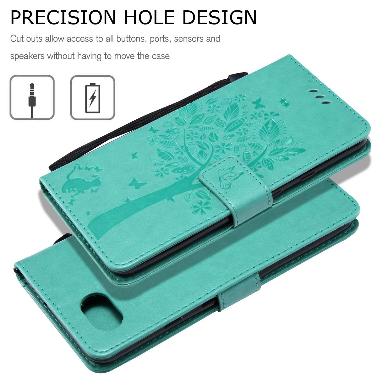Magnetic-Leather-Credit-Card-Holder-Flip-Case-Cover-For-Google-Pixel-2-2-XL thumbnail 87