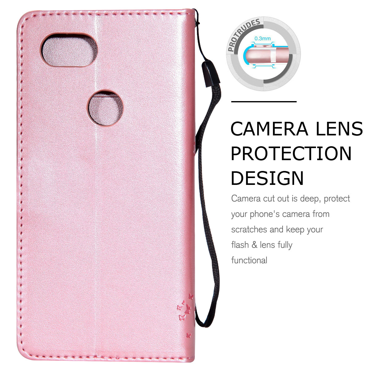 Magnetic-Leather-Credit-Card-Holder-Flip-Case-Cover-For-Google-Pixel-2-2-XL thumbnail 91