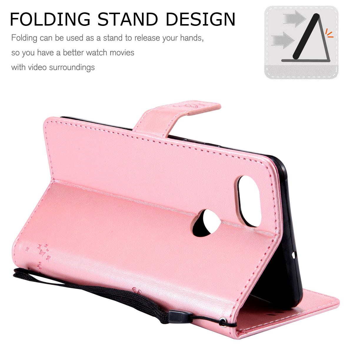 Magnetic-Leather-Credit-Card-Holder-Flip-Case-Cover-For-Google-Pixel-2-2-XL thumbnail 92