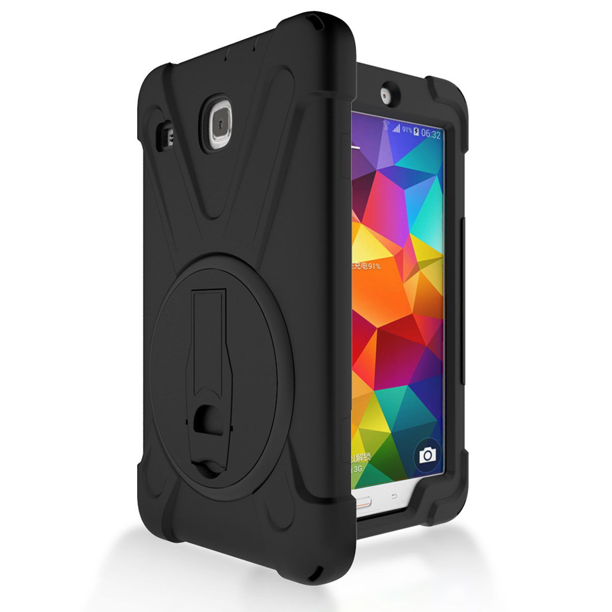 shockproof rotation hard kickstand case for samsung galaxy. Black Bedroom Furniture Sets. Home Design Ideas
