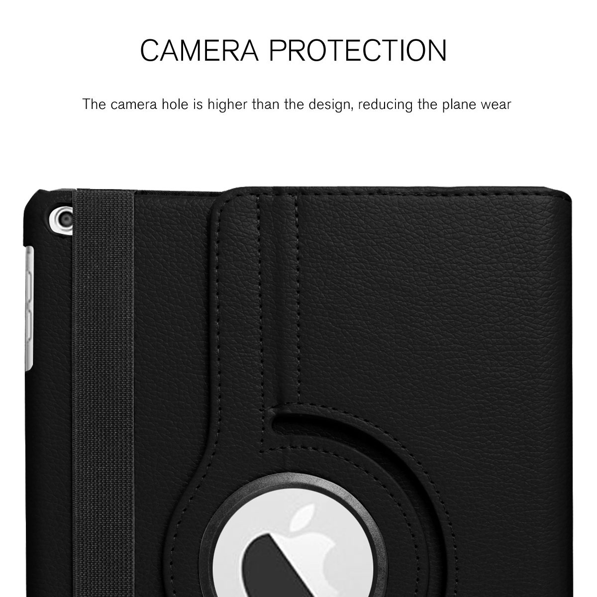 For-Apple-iPad-9-7-2017-5th-Gen-A1822-A1823-360-Rotating-Protective-Leather-Case thumbnail 17