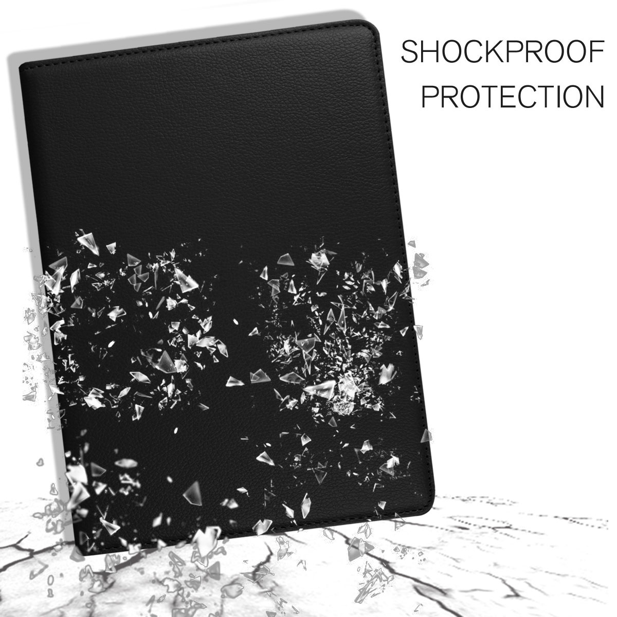 For-Apple-iPad-9-7-2017-5th-Gen-A1822-A1823-360-Rotating-Protective-Leather-Case thumbnail 18