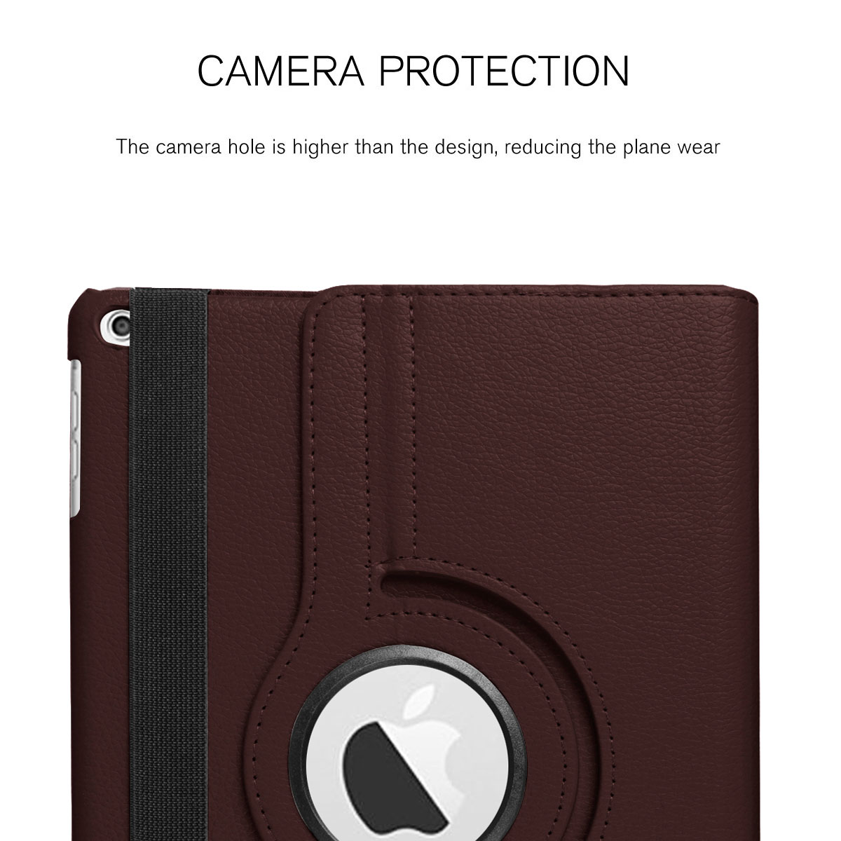 For-Apple-iPad-9-7-2017-5th-Gen-A1822-A1823-360-Rotating-Protective-Leather-Case thumbnail 29