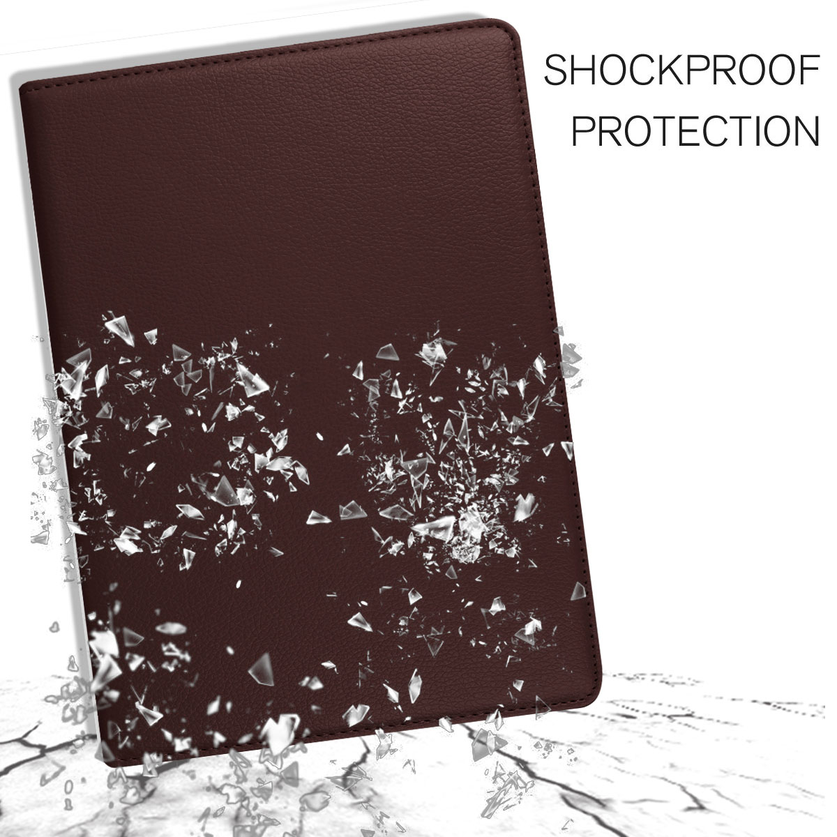 For-Apple-iPad-9-7-2017-5th-Gen-A1822-A1823-360-Rotating-Protective-Leather-Case thumbnail 30