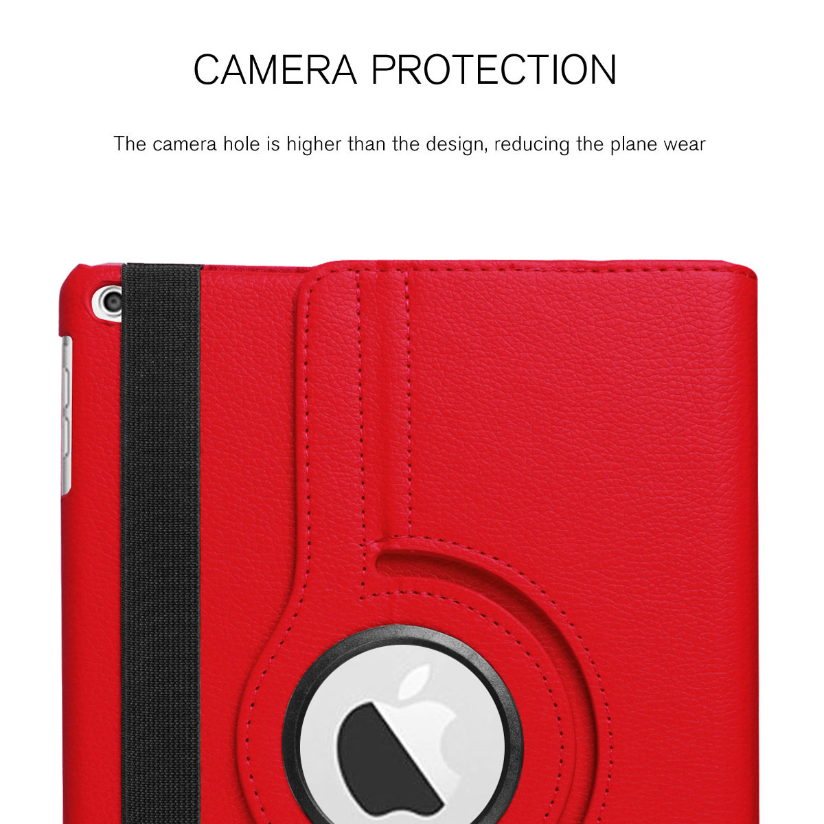 For-Apple-iPad-9-7-2017-5th-Gen-A1822-A1823-360-Rotating-Protective-Leather-Case thumbnail 35