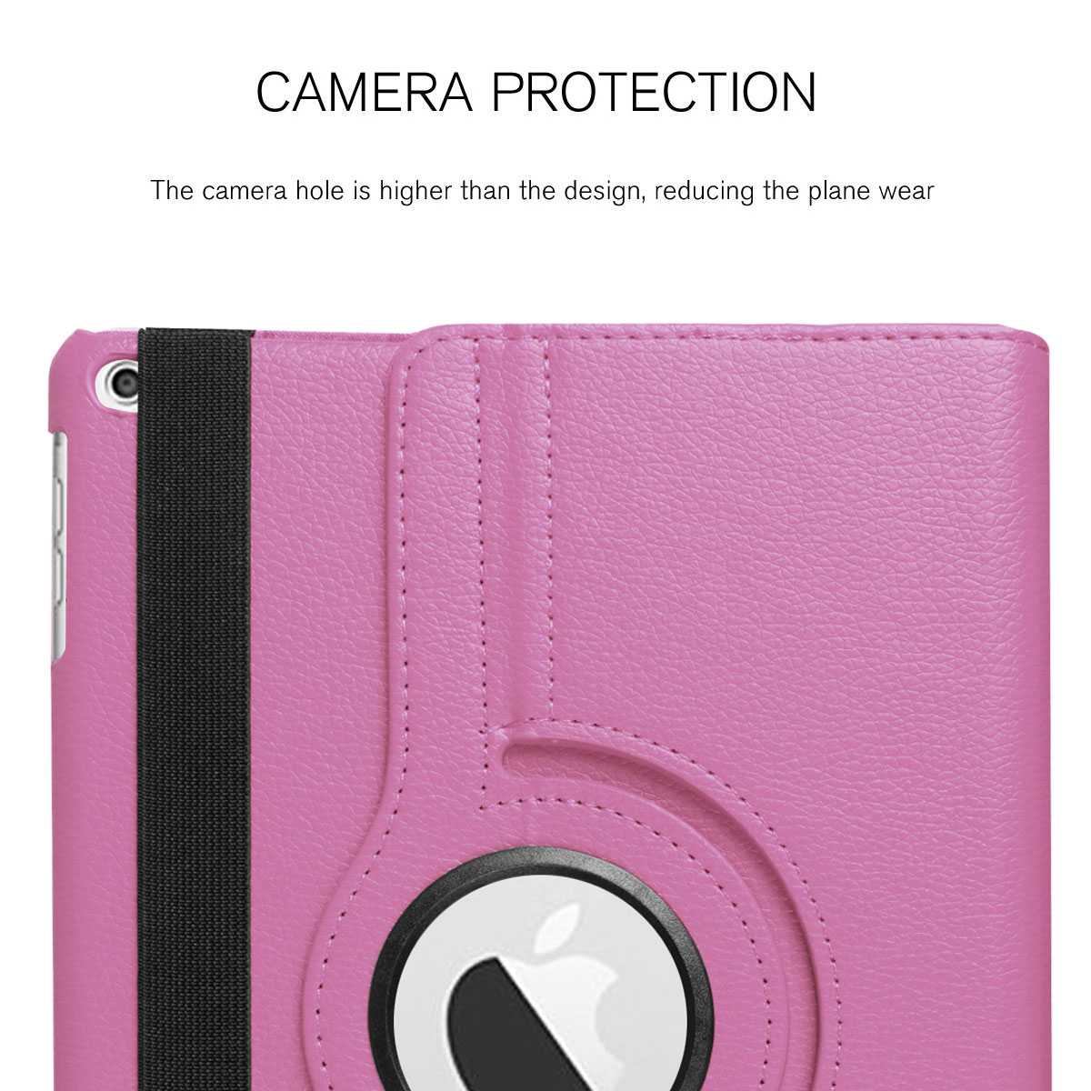 For-Apple-iPad-9-7-2017-5th-Gen-A1822-A1823-360-Rotating-Protective-Leather-Case thumbnail 41