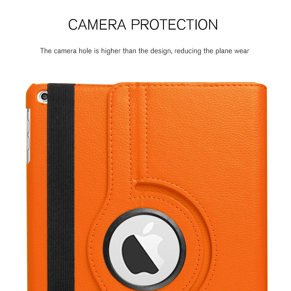 For-Apple-iPad-9-7-2017-5th-Gen-A1822-A1823-360-Rotating-Protective-Leather-Case thumbnail 47