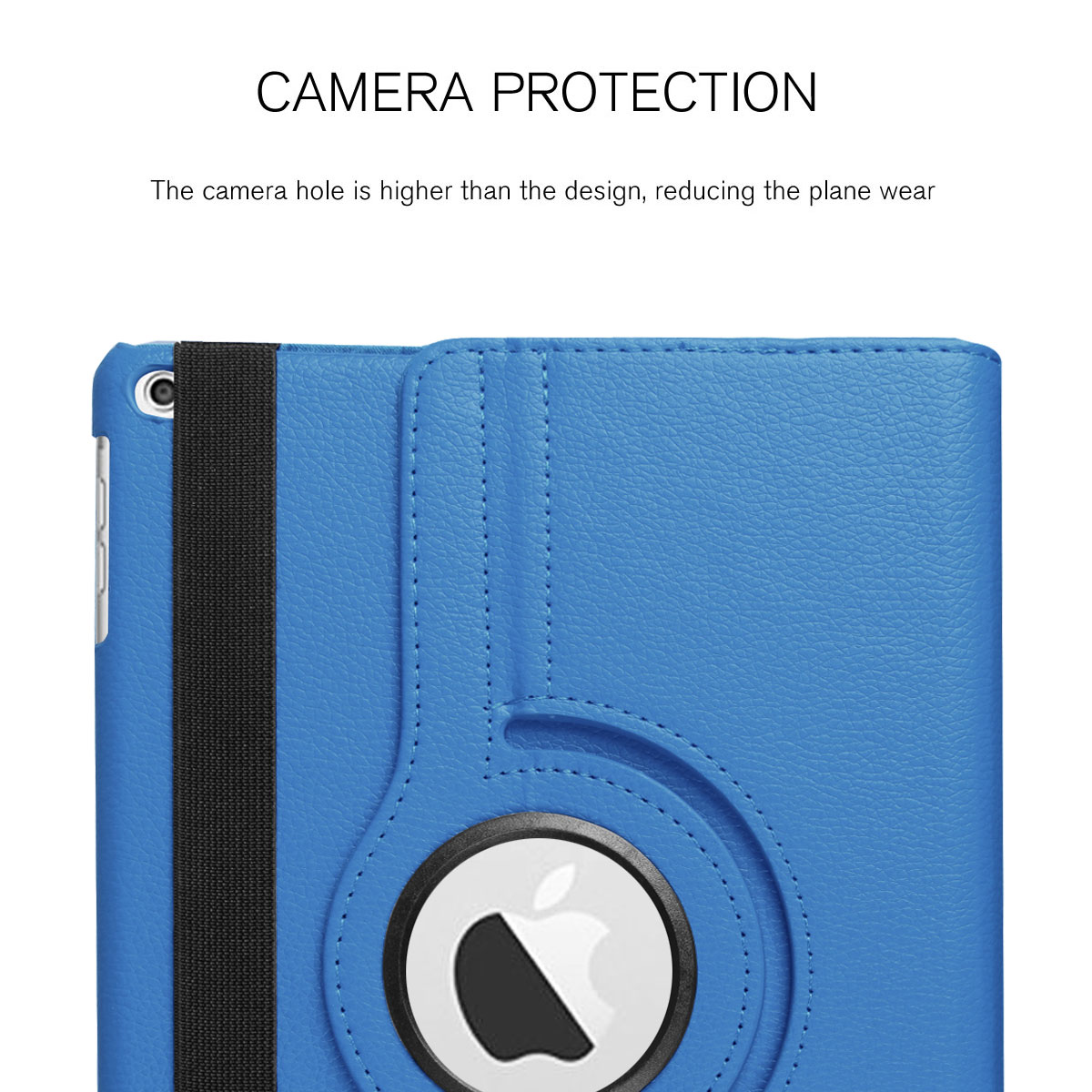 For-Apple-iPad-9-7-2017-5th-Gen-A1822-A1823-360-Rotating-Protective-Leather-Case thumbnail 53