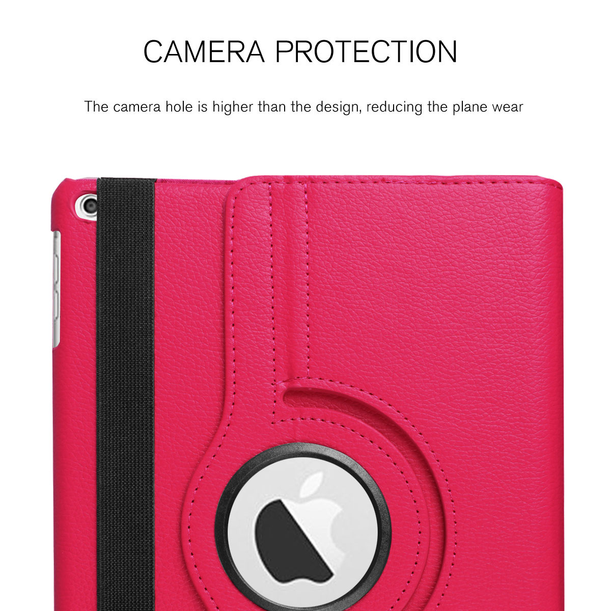 For-Apple-iPad-9-7-2017-5th-Gen-A1822-A1823-360-Rotating-Protective-Leather-Case thumbnail 59