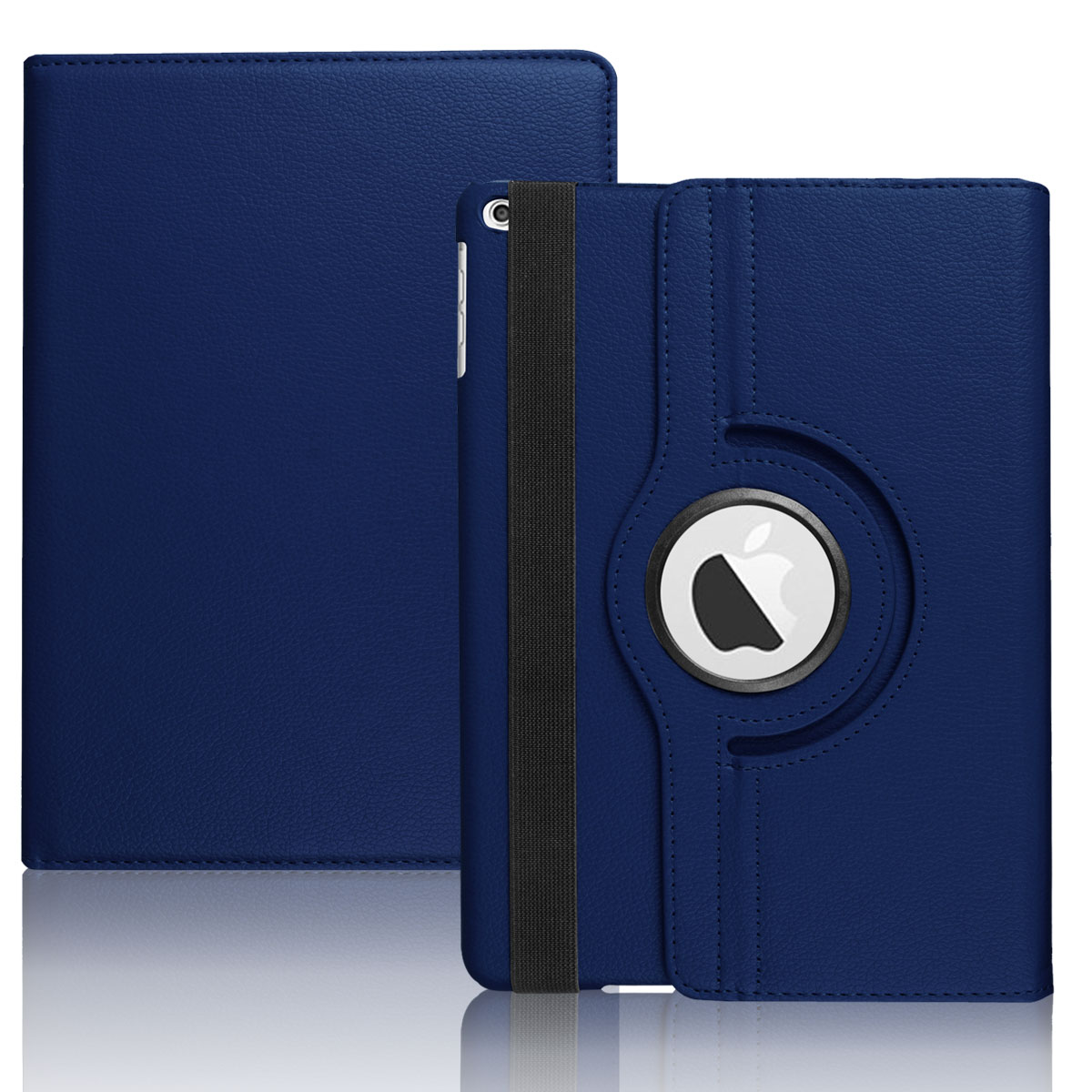 360 rotating leather kickstand case cover for apple ipad 9. Black Bedroom Furniture Sets. Home Design Ideas