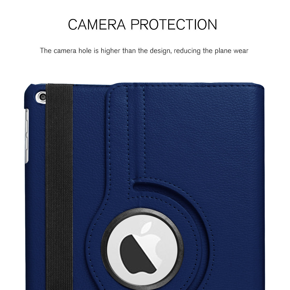 For-Apple-iPad-9-7-2017-5th-Gen-A1822-A1823-360-Rotating-Protective-Leather-Case thumbnail 71
