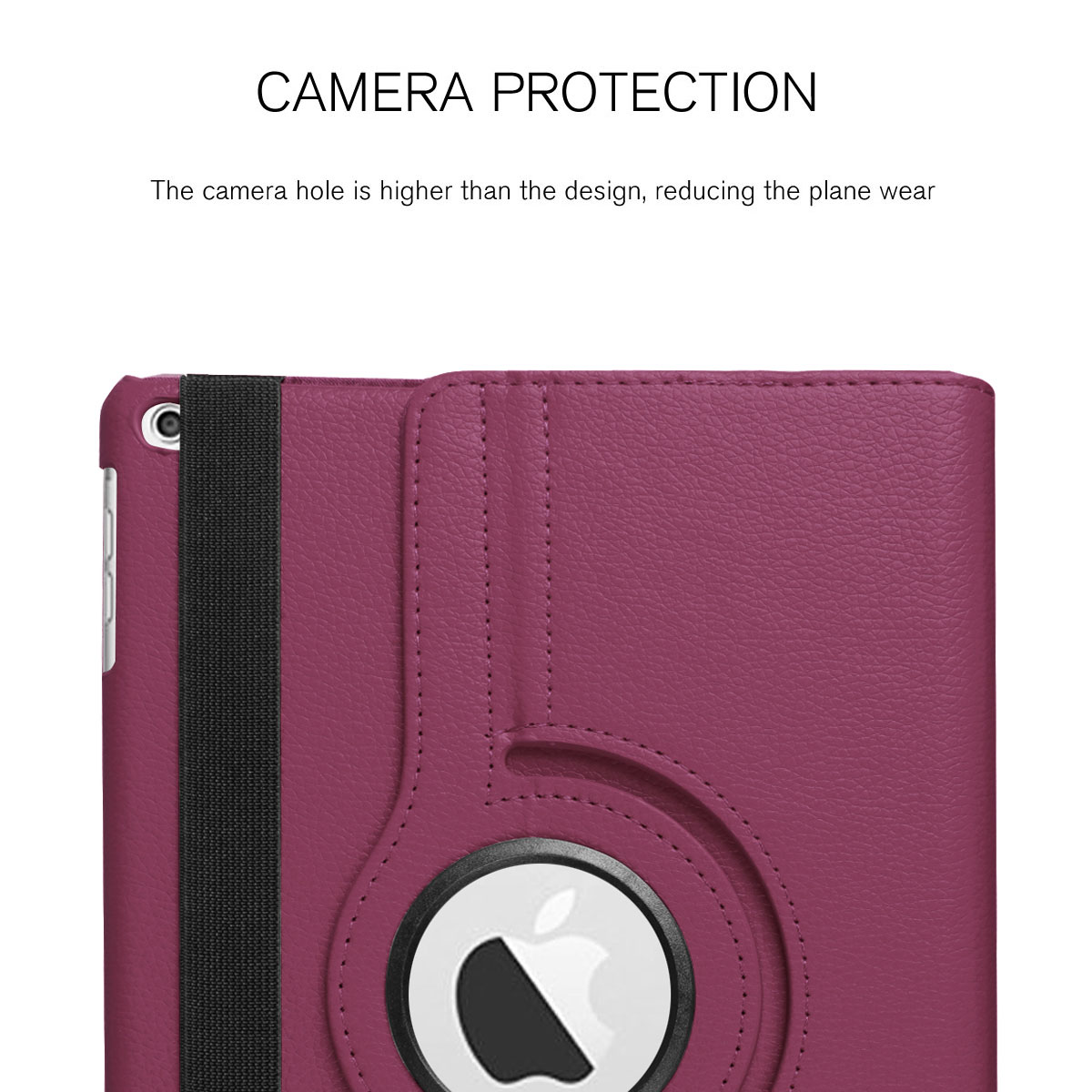 For-Apple-iPad-9-7-2017-5th-Gen-A1822-A1823-360-Rotating-Protective-Leather-Case thumbnail 77