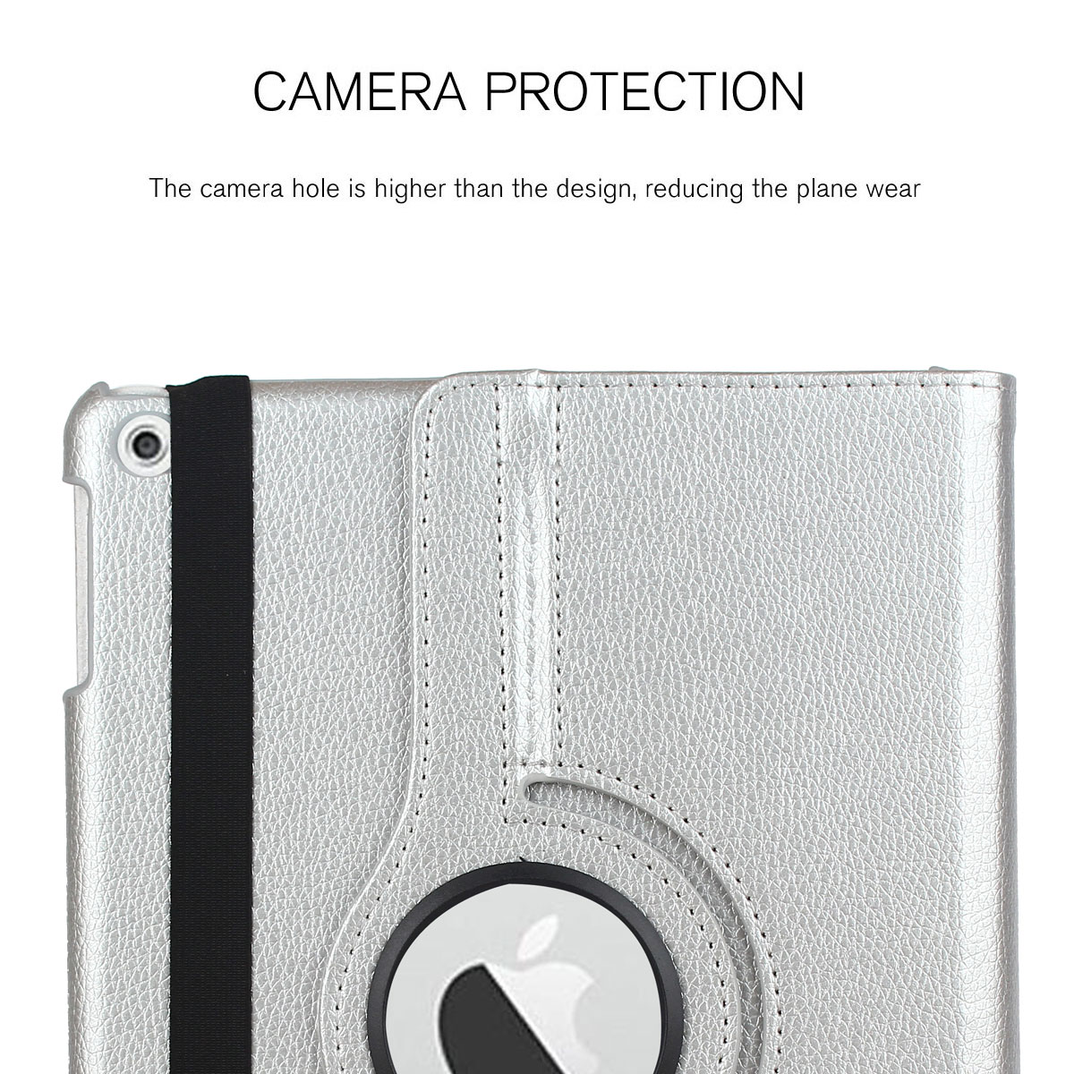 For-Apple-iPad-9-7-2017-5th-Gen-A1822-A1823-360-Rotating-Protective-Leather-Case thumbnail 83