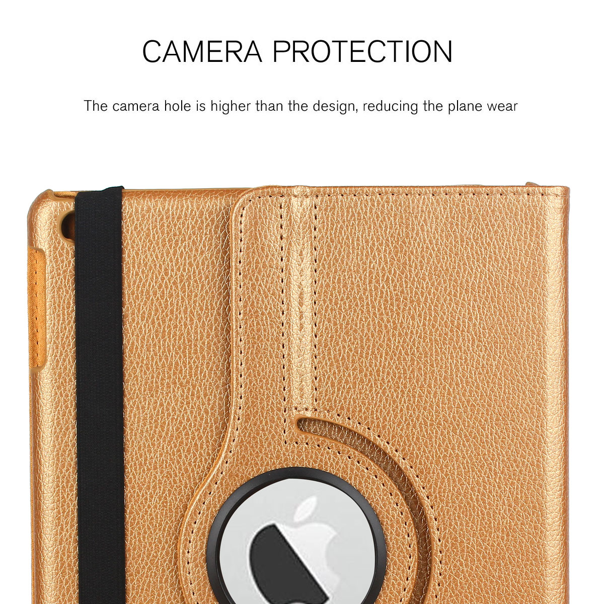 For-Apple-iPad-9-7-2017-5th-Gen-A1822-A1823-360-Rotating-Protective-Leather-Case thumbnail 89