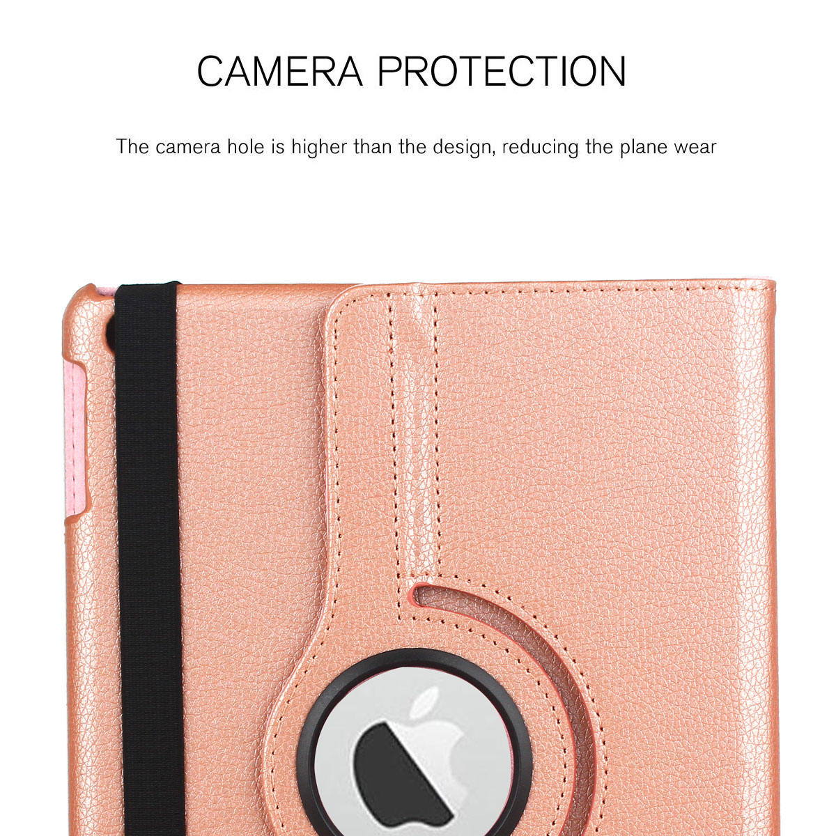 For-Apple-iPad-9-7-2017-5th-Gen-A1822-A1823-360-Rotating-Protective-Leather-Case thumbnail 95